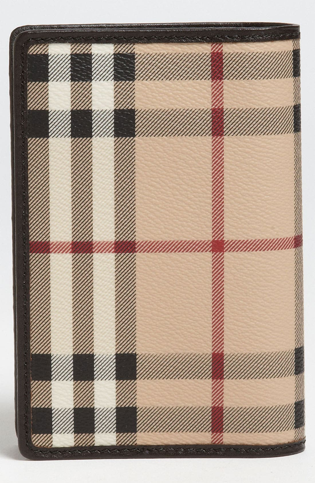 Alternate Image 4  - Burberry 'Haymarket Check' Passport Case