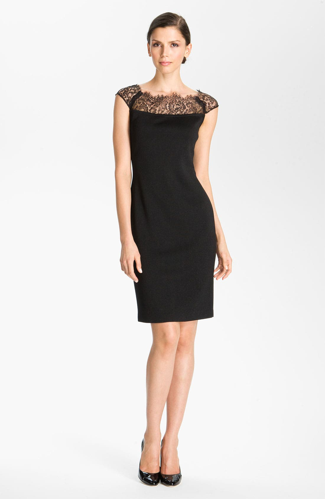 Main Image - St. John Collection Shimmer Milano Knit Dress