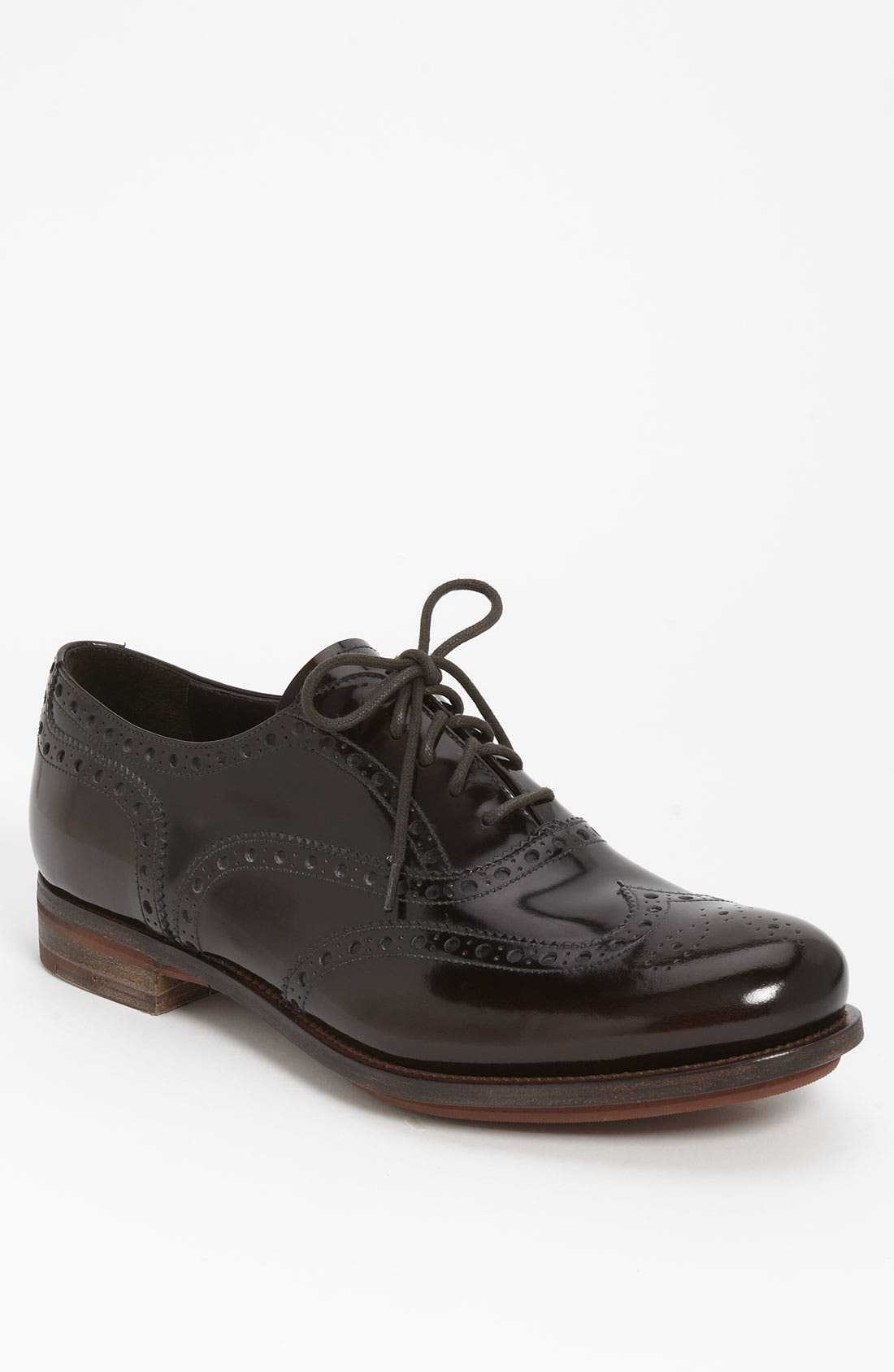 Alternate Image 1 Selected - Prada Wingtip Oxford