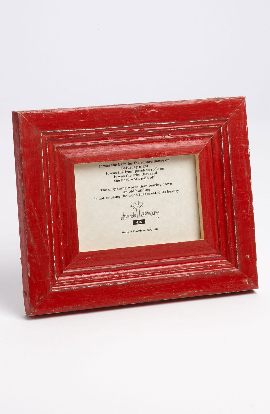 Alternate Image 2  - Distressed Wood Picture Frame (5x7)
