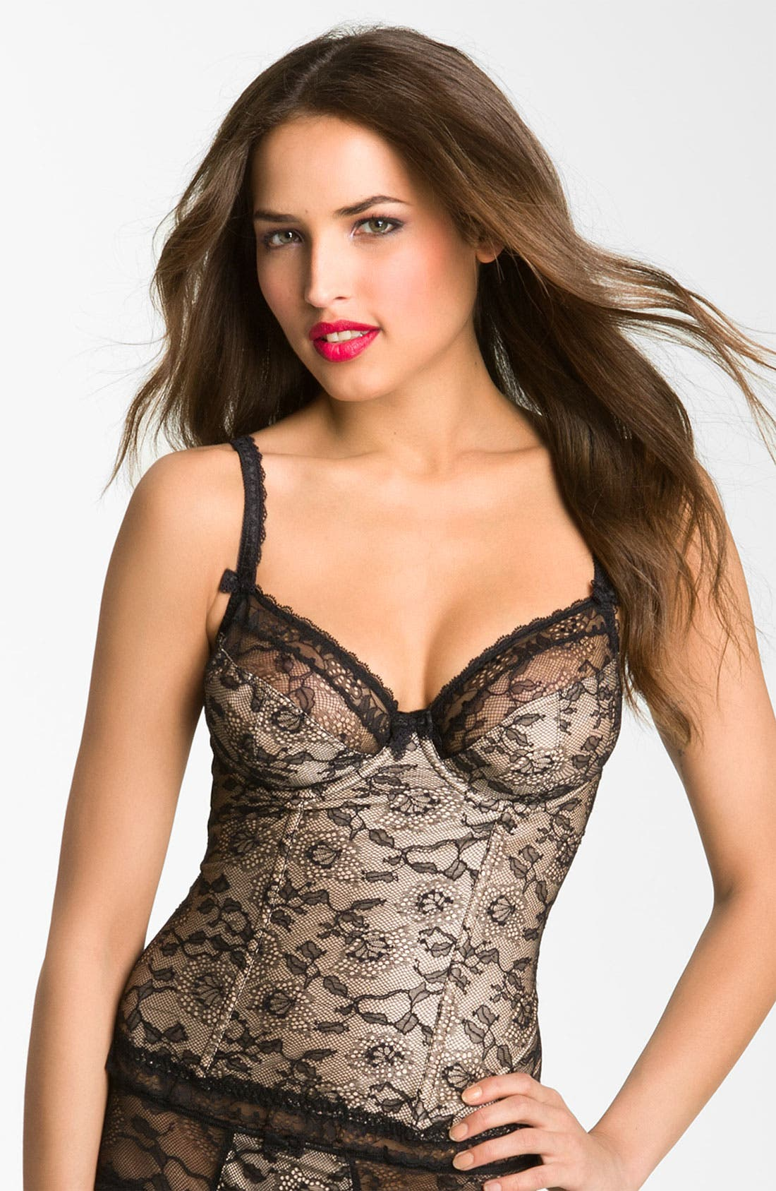 Main Image - Fantasie Underwire Basque Corset