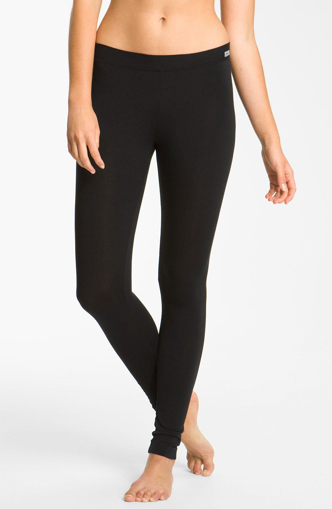 Alternate Image 1 Selected - DKNY 'Effortlessly' Long Leggings