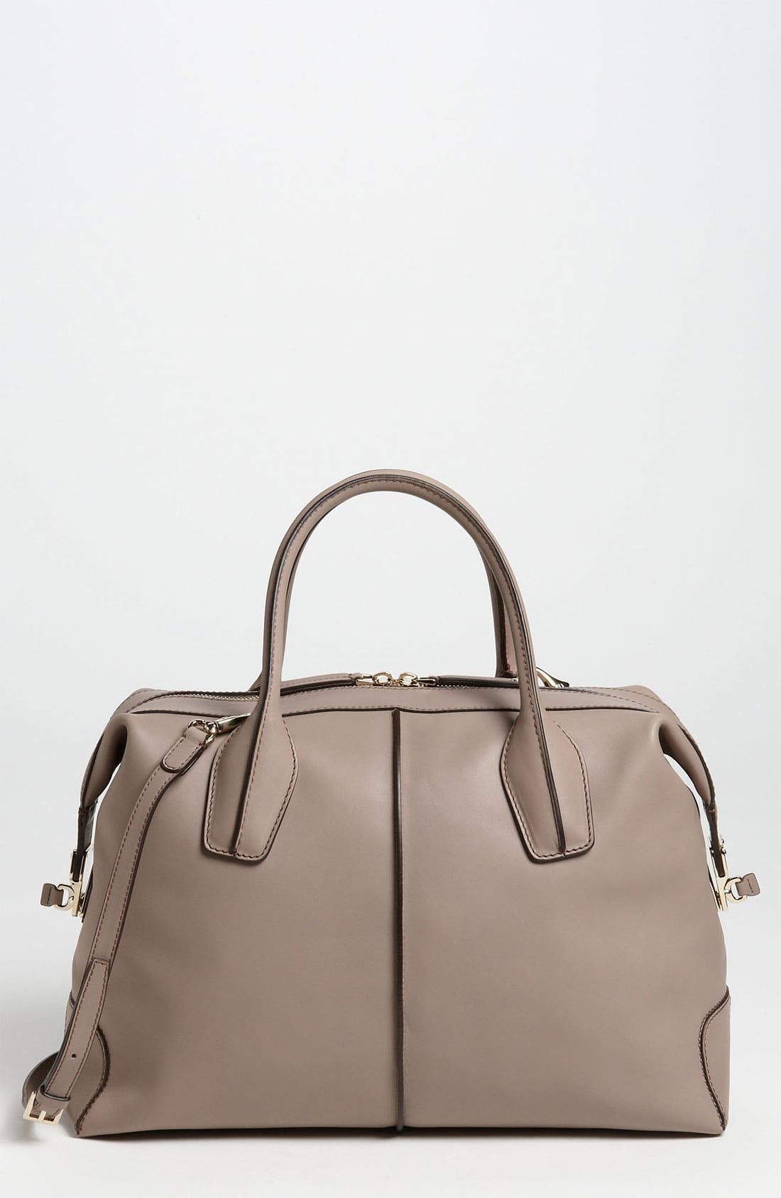 Alternate Image 1 Selected - Tod's 'Small D-Styling' Leather Satchel