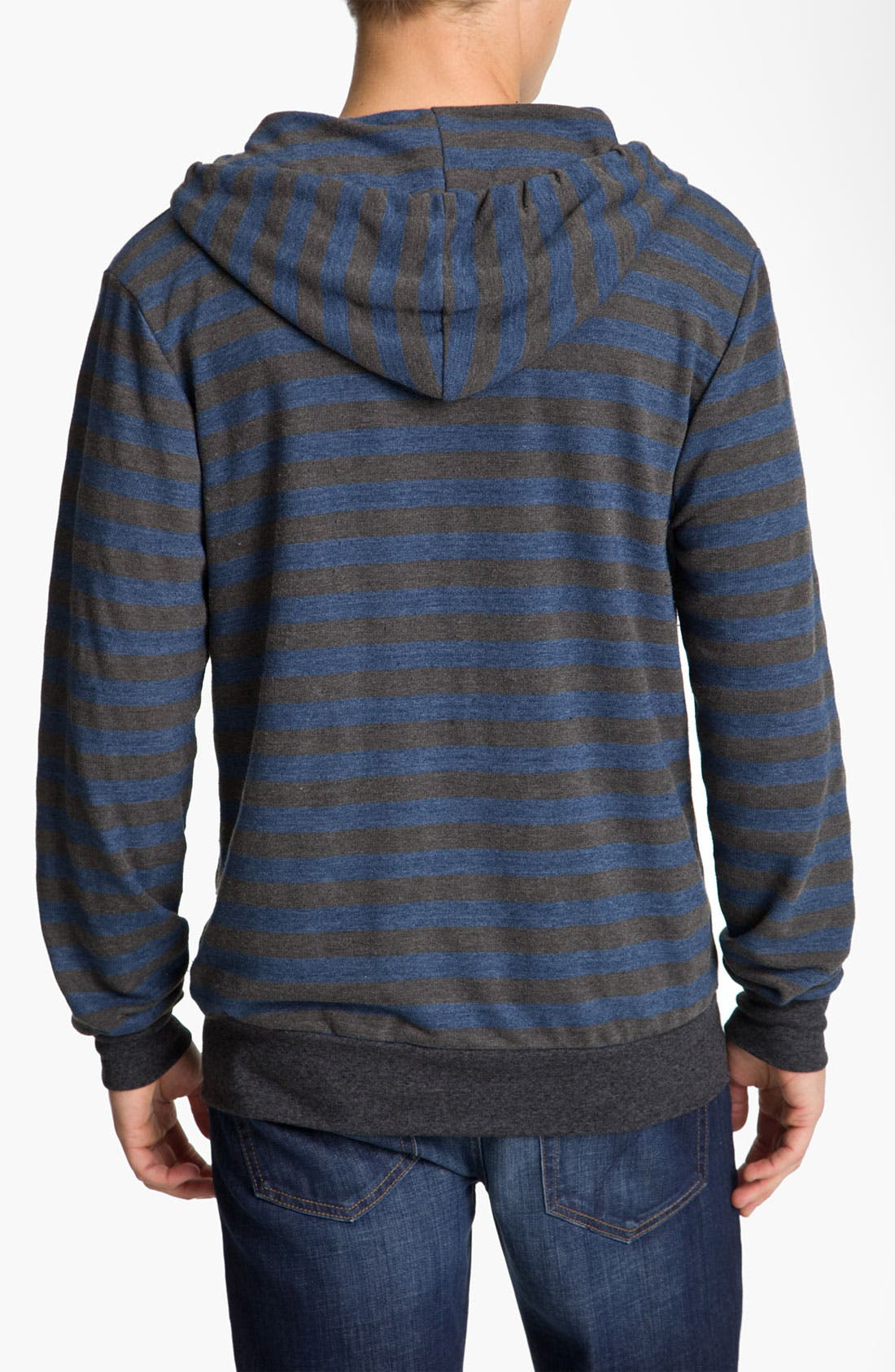 Alternate Image 2  - Threads for Thought Trim Fit French Terry Hoodie