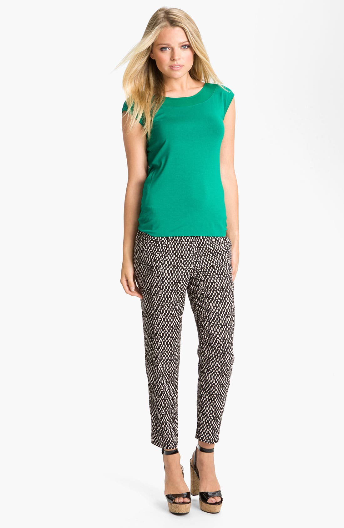 Alternate Image 4  - Vince Camuto 'Spaced Tiles' Pegged Pants