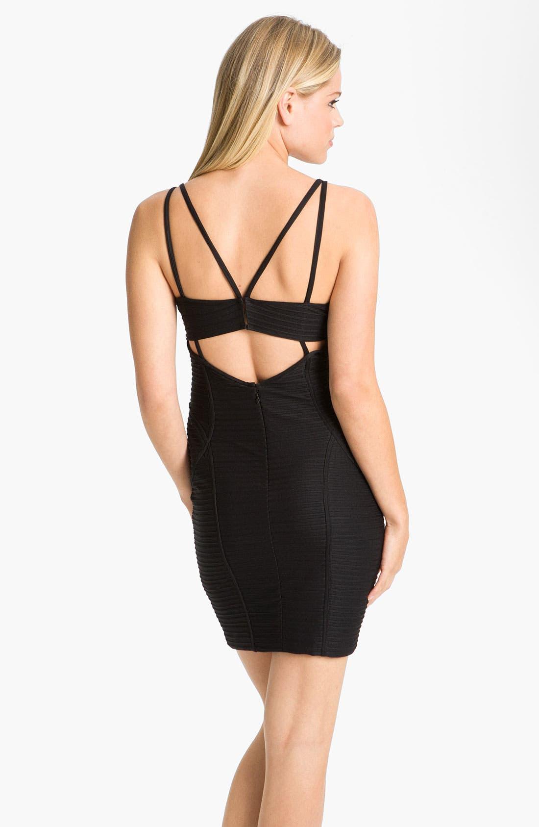 Alternate Image 2  - Jill Stuart Multi Strap Banded Jersey Sheath Dress