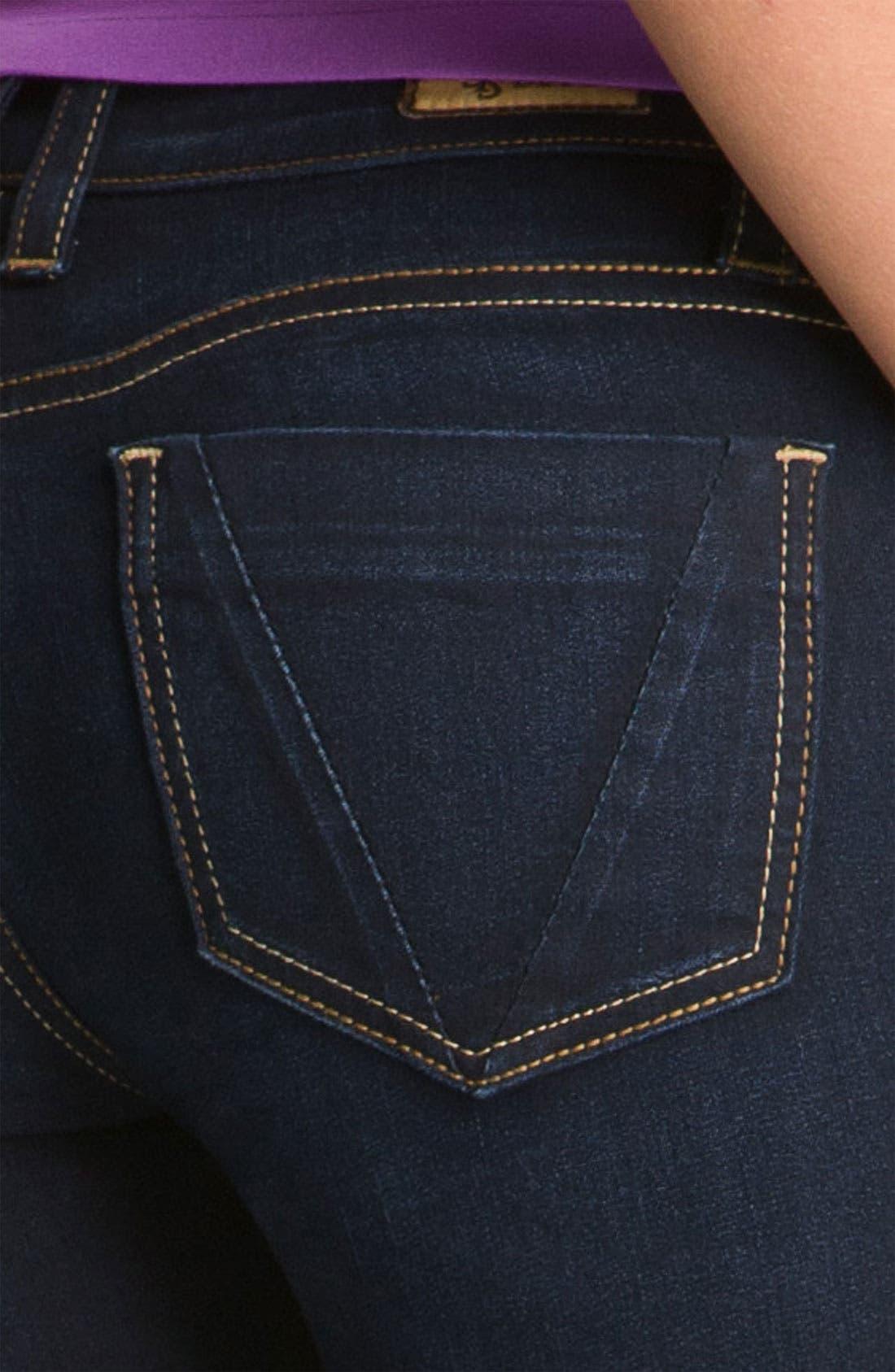 Alternate Image 3  - STS Blue Skinny Jeans (Brisbane Dark) (Juniors) (Online Only)