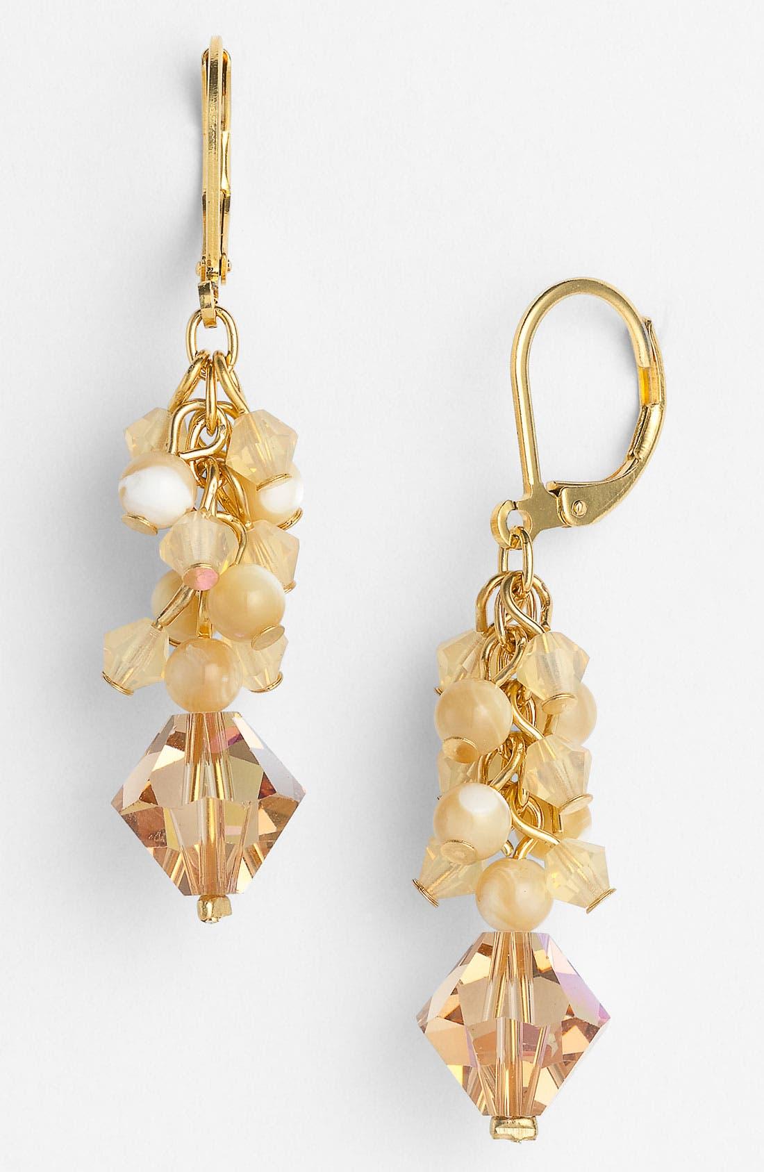 Alternate Image 1 Selected - Dabby Reid Crystal Drop Earrings