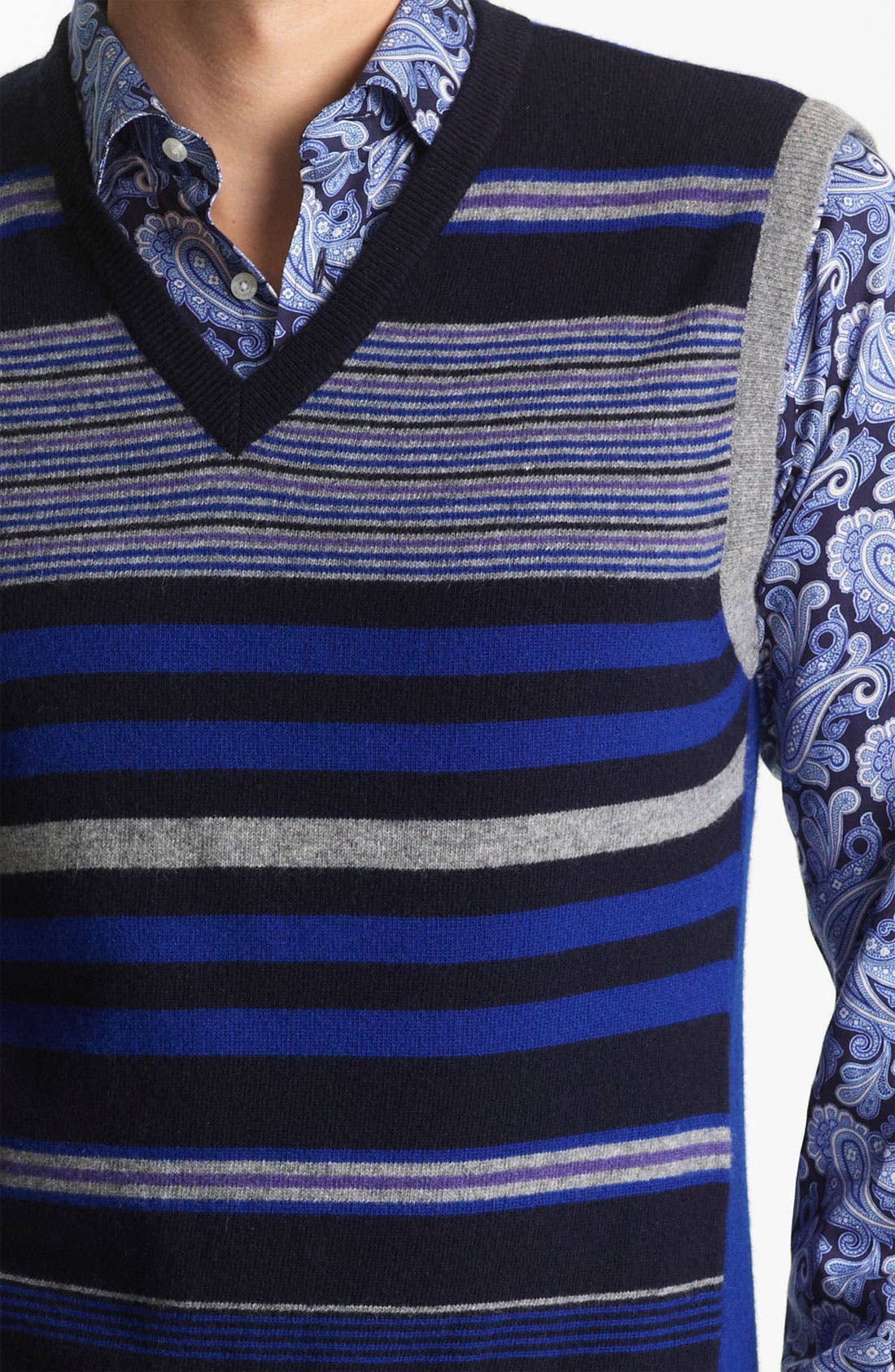 Alternate Image 3  - Etro Stripe Sweater Vest