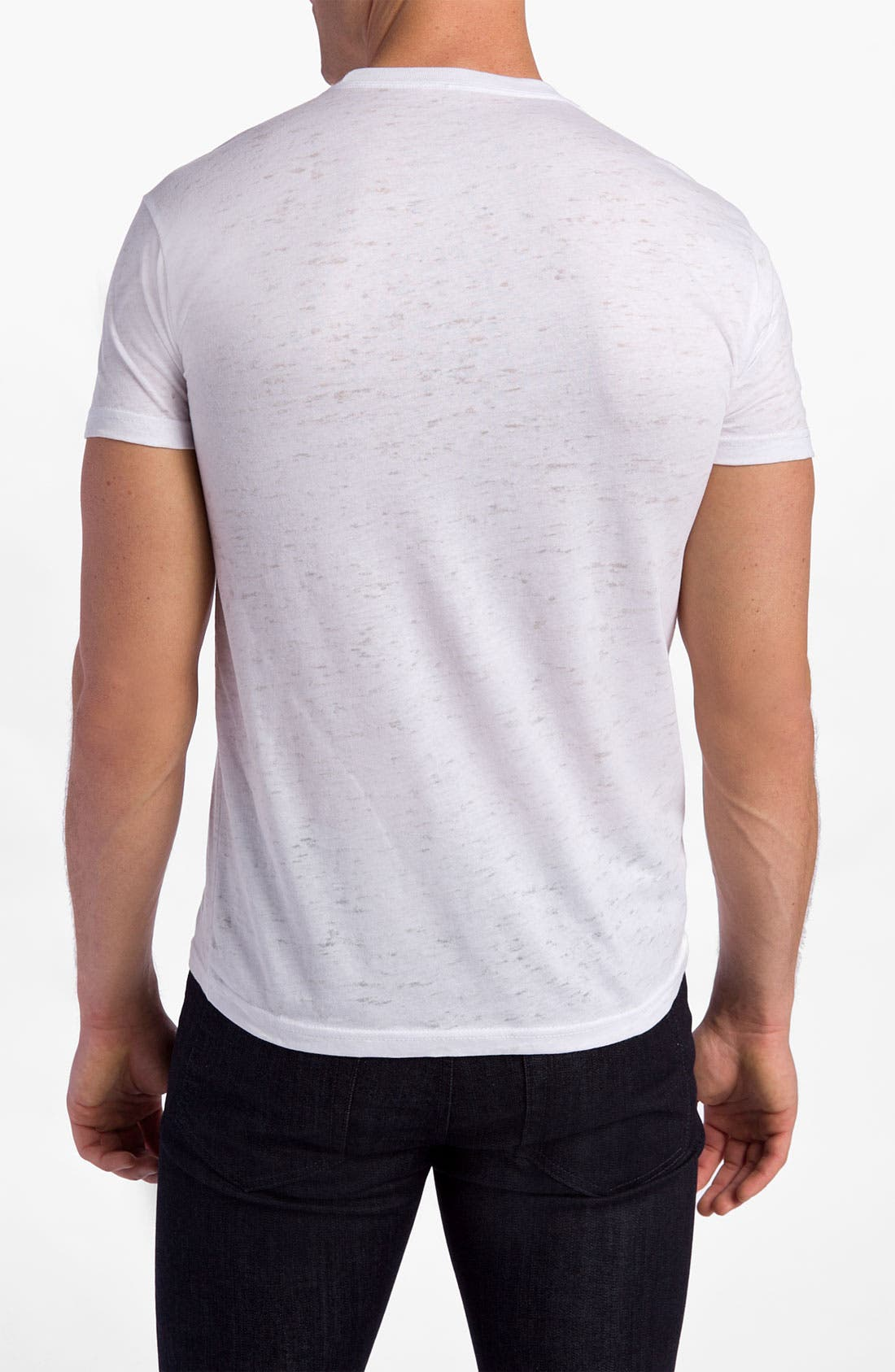 Alternate Image 2  - Free Authority 'Red Stripe' T-Shirt
