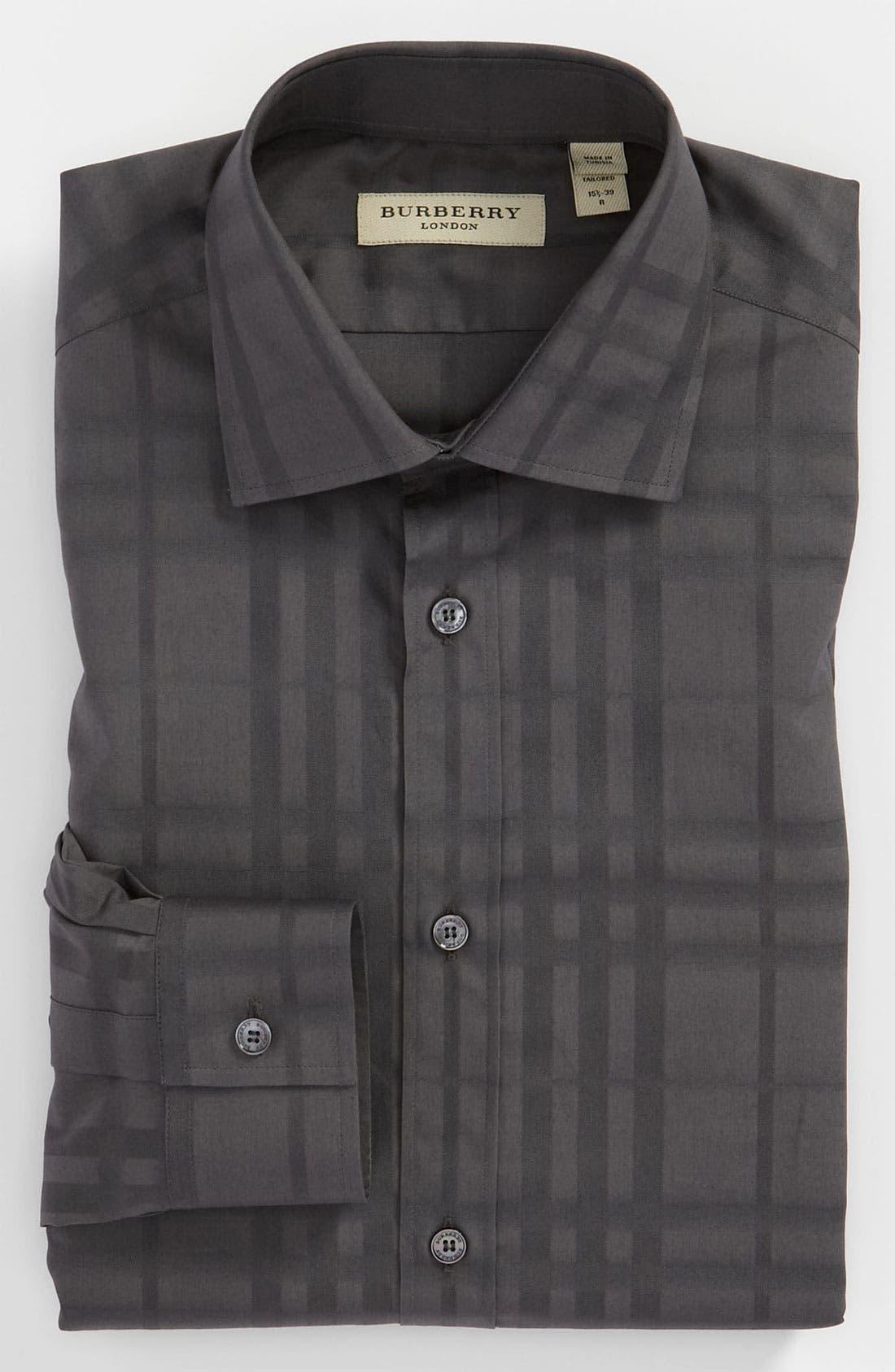 Alternate Image 1 Selected - Burberry London Trim Fit Dress Shirt