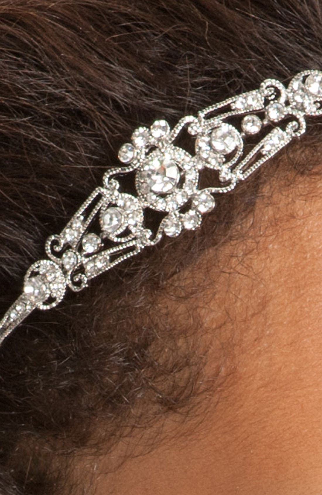 Alternate Image 2  - Nina 'Mariel' Swarovski Crystal Headband