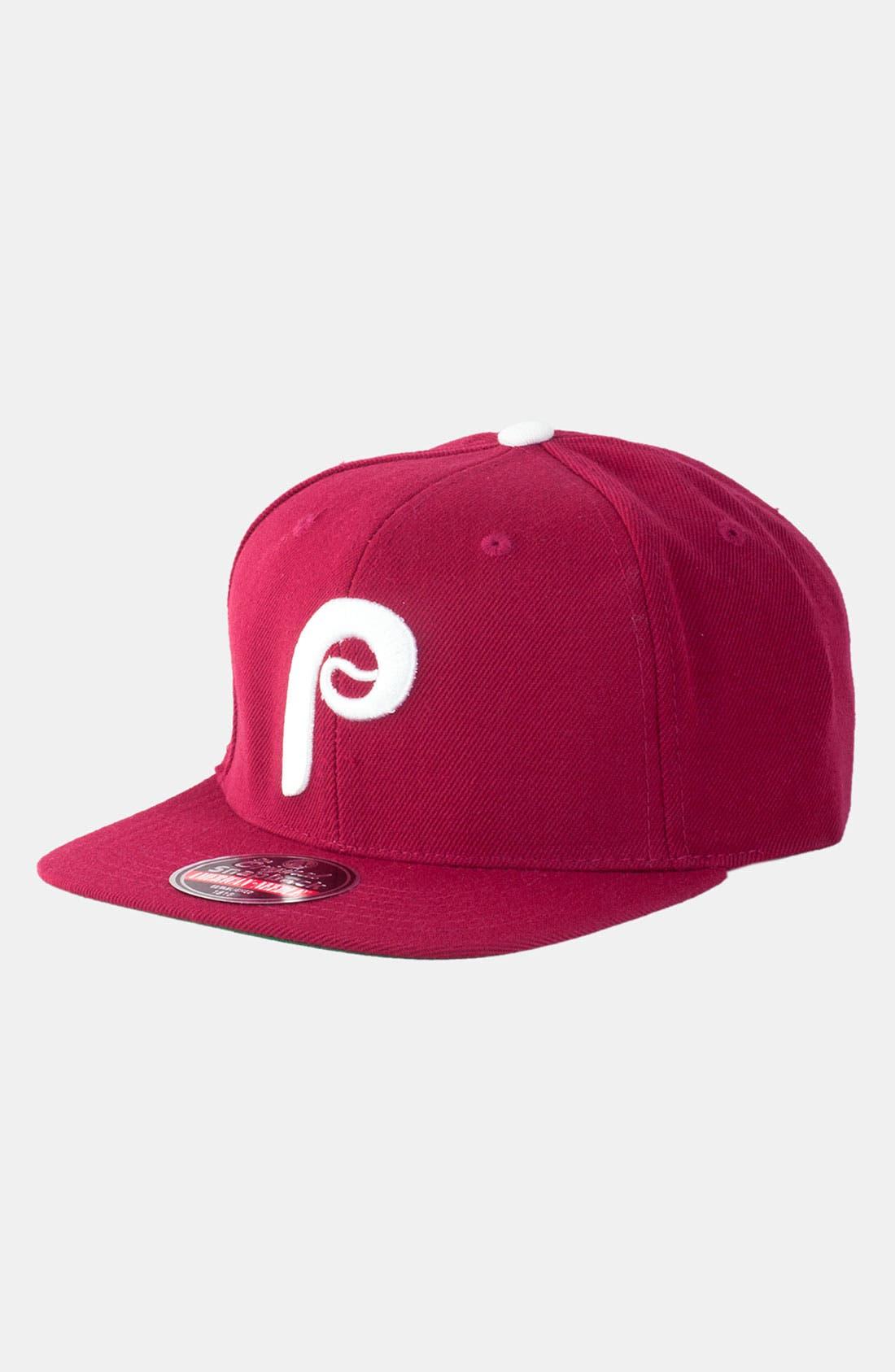 Main Image - American Needle 'Philadelphia Phillies - Cooperstown' Snapback Baseball Cap