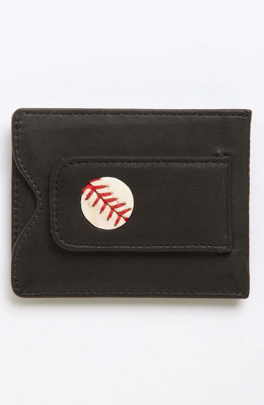 Alternate Image 1 Selected - Tokens & Icons 'Boston Red Sox' MLB™ Game-Played-Baseball Card Case