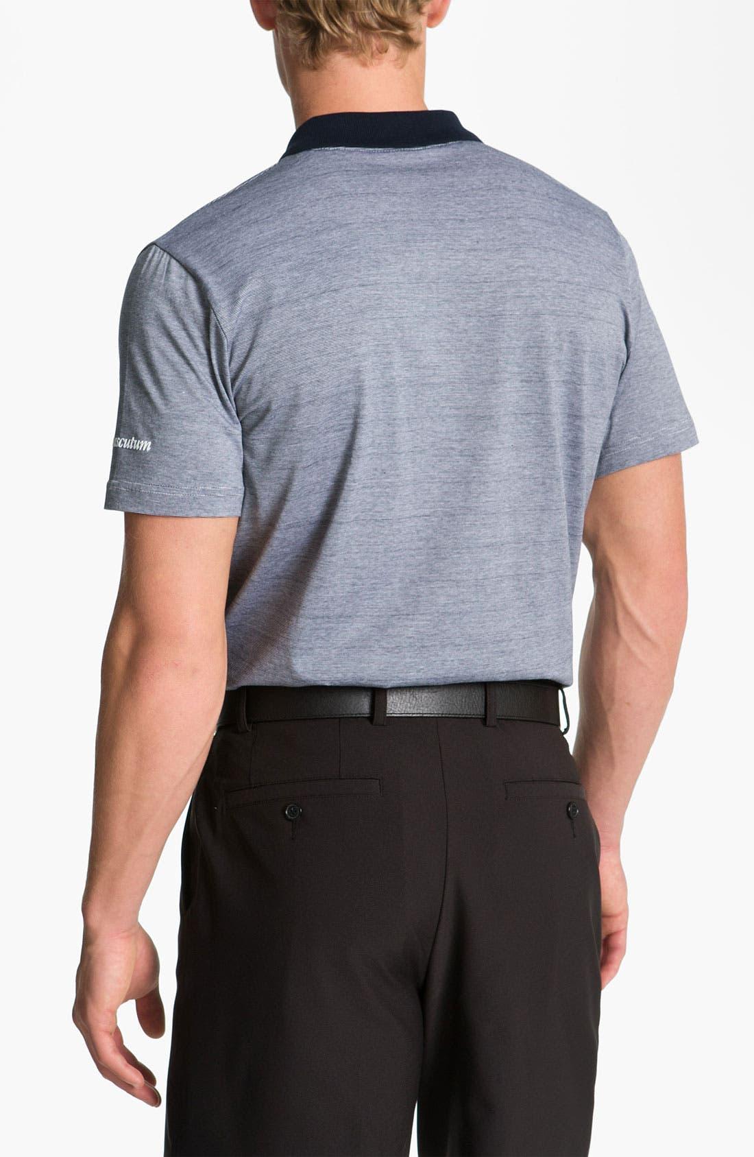 Alternate Image 2  - Aquascutum Golf Mercerized Cotton Polo