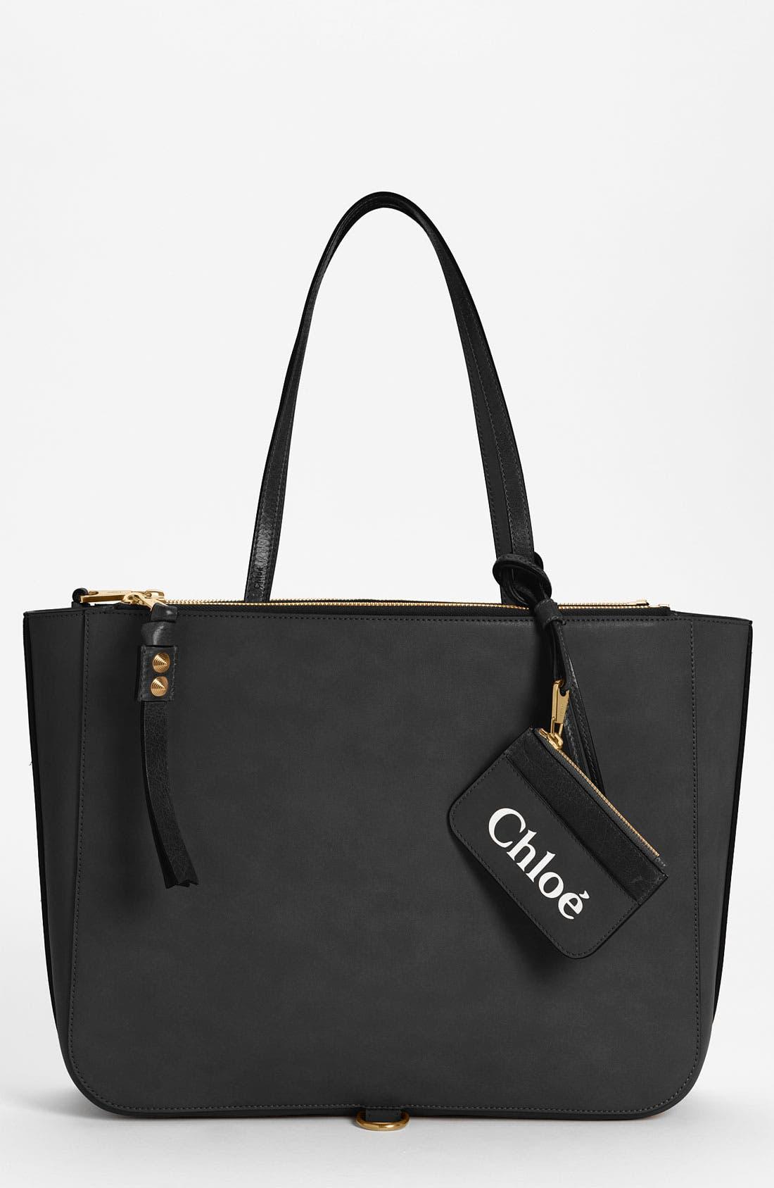 Alternate Image 1 Selected - Chloé 'Sam - Medium' Leather Tote