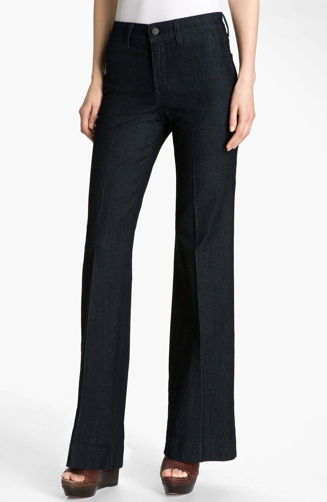 Alternate Image 1 Selected - NYDJ 'Greta' Trouser Jeans (Petite)
