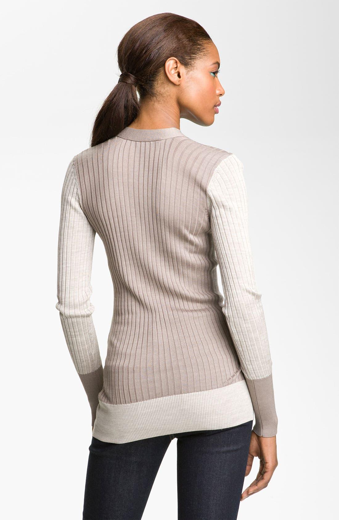 Alternate Image 2  - MARC BY MARC JACOBS 'Suki' Silk Sweater