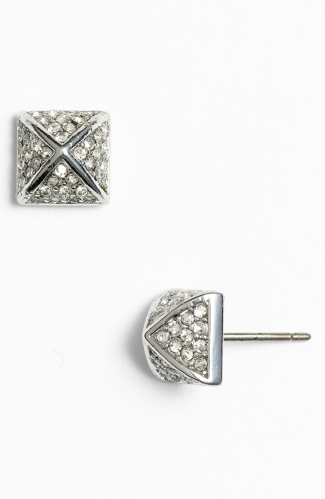 Main Image - Juicy Couture 'Punk Royals' Pyramid Stud Earrings