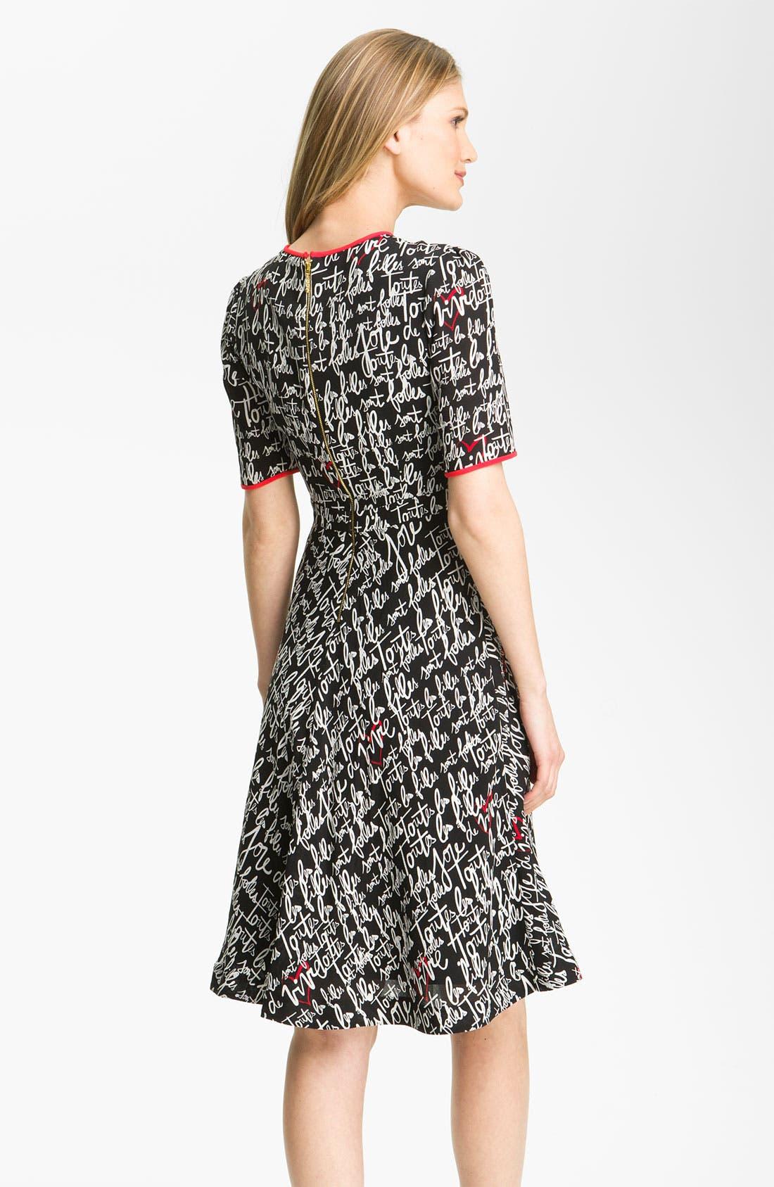 Alternate Image 2  - kate spade new york dress & accessories