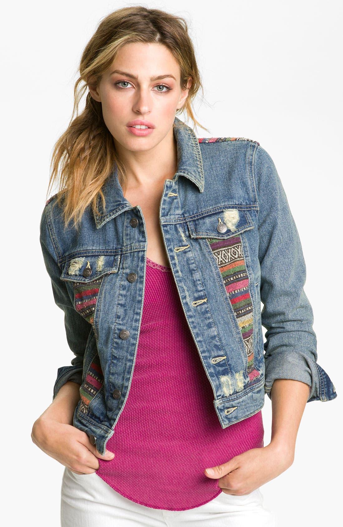 Alternate Image 1 Selected - Free People 'Baja' Denim Jacket