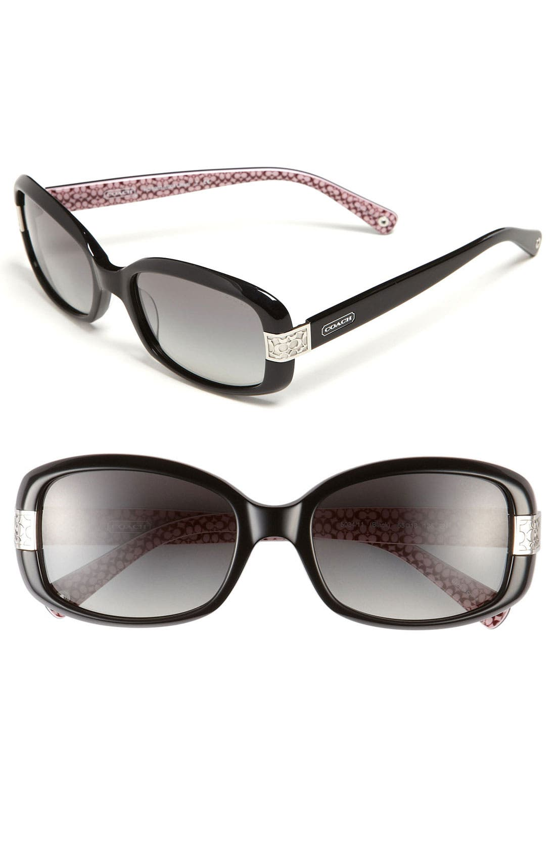 Alternate Image 1 Selected - COACH 'Lillian' Gradient Lens Sunglasses