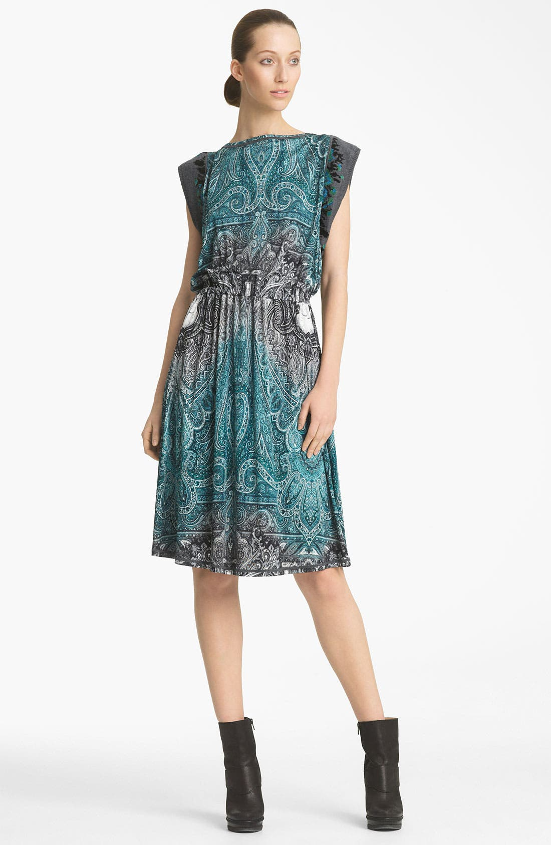 Alternate Image 1 Selected - Jean Paul Gaultier Fuzzi Paisley Print Dress