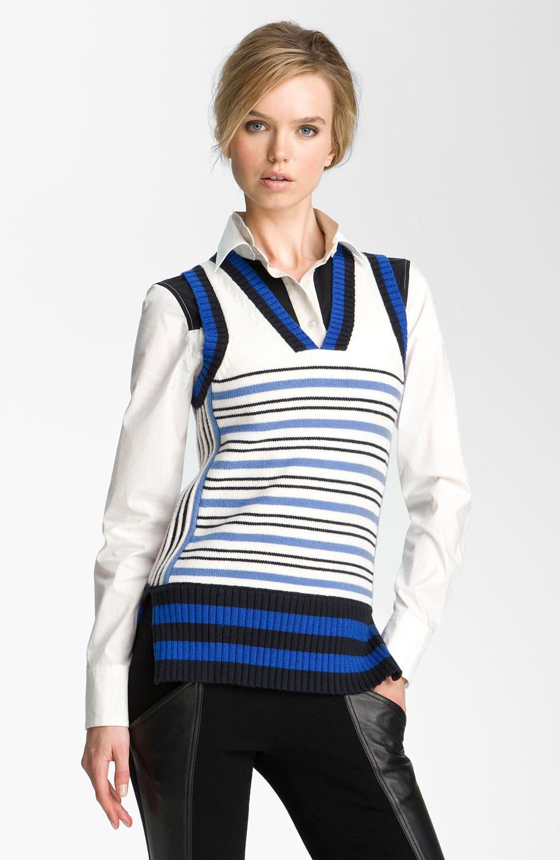 Alternate Image 1 Selected - Derek Lam 10 Crosby Sweater Vest