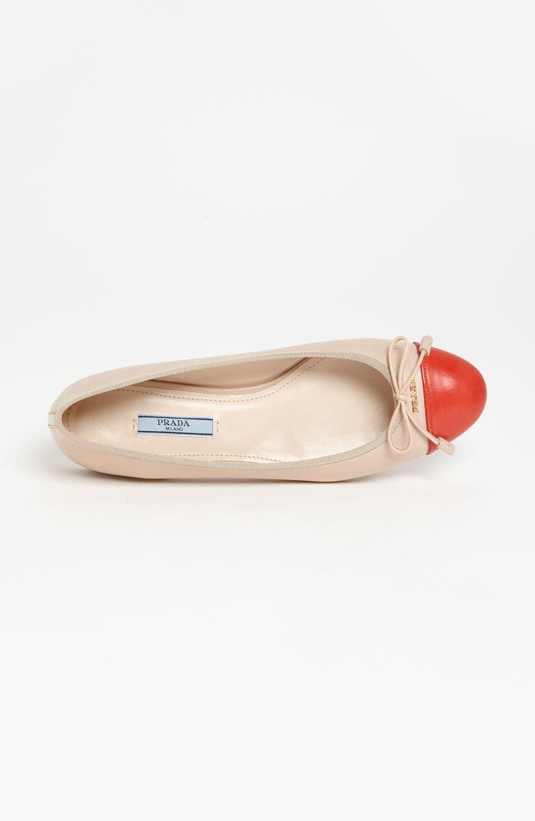 Alternate Image 3  - Prada Bow Ballerina Flat
