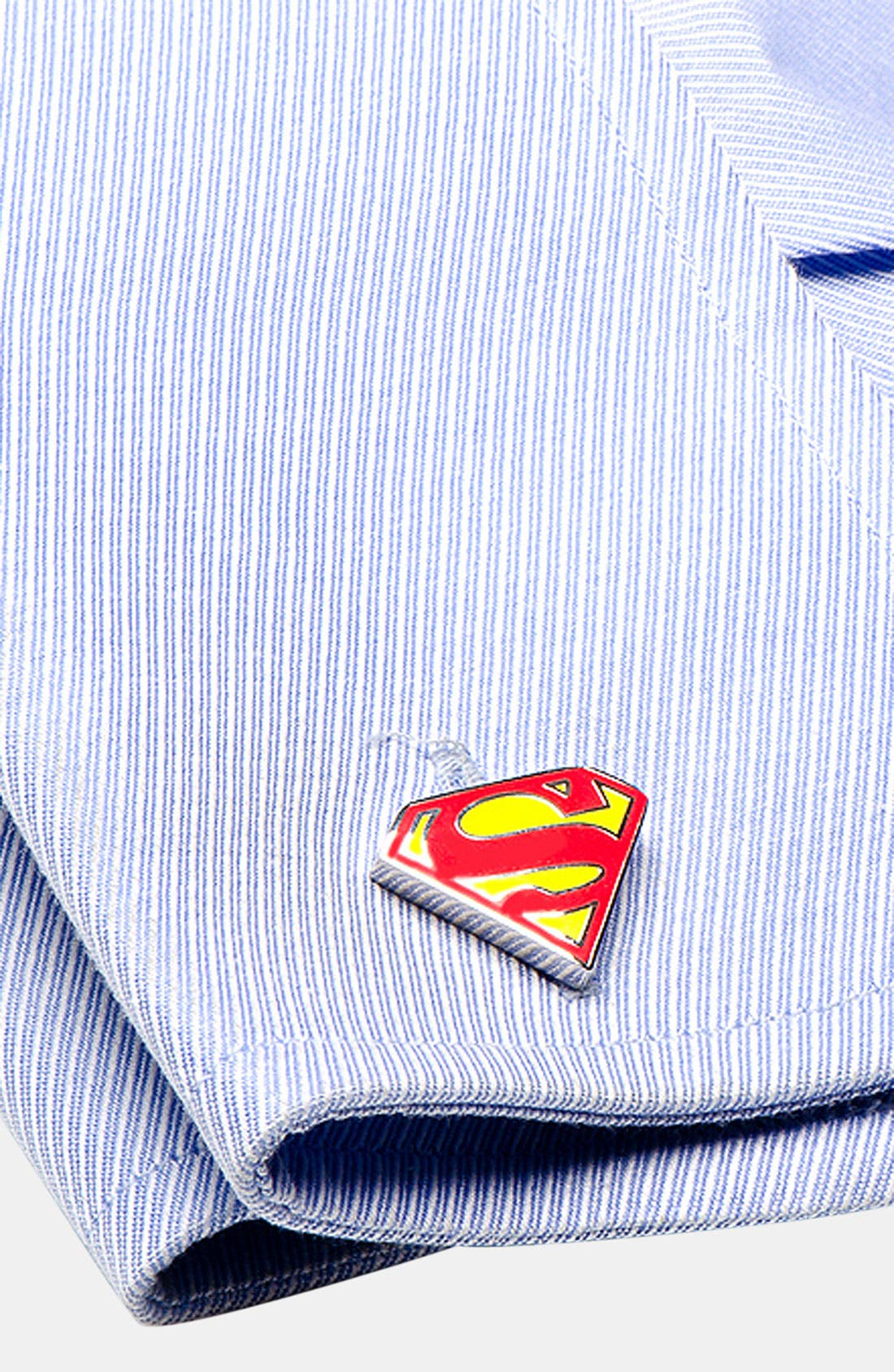 Alternate Image 2  - Cufflinks, Inc. 'Superman Shield' Cuff Links