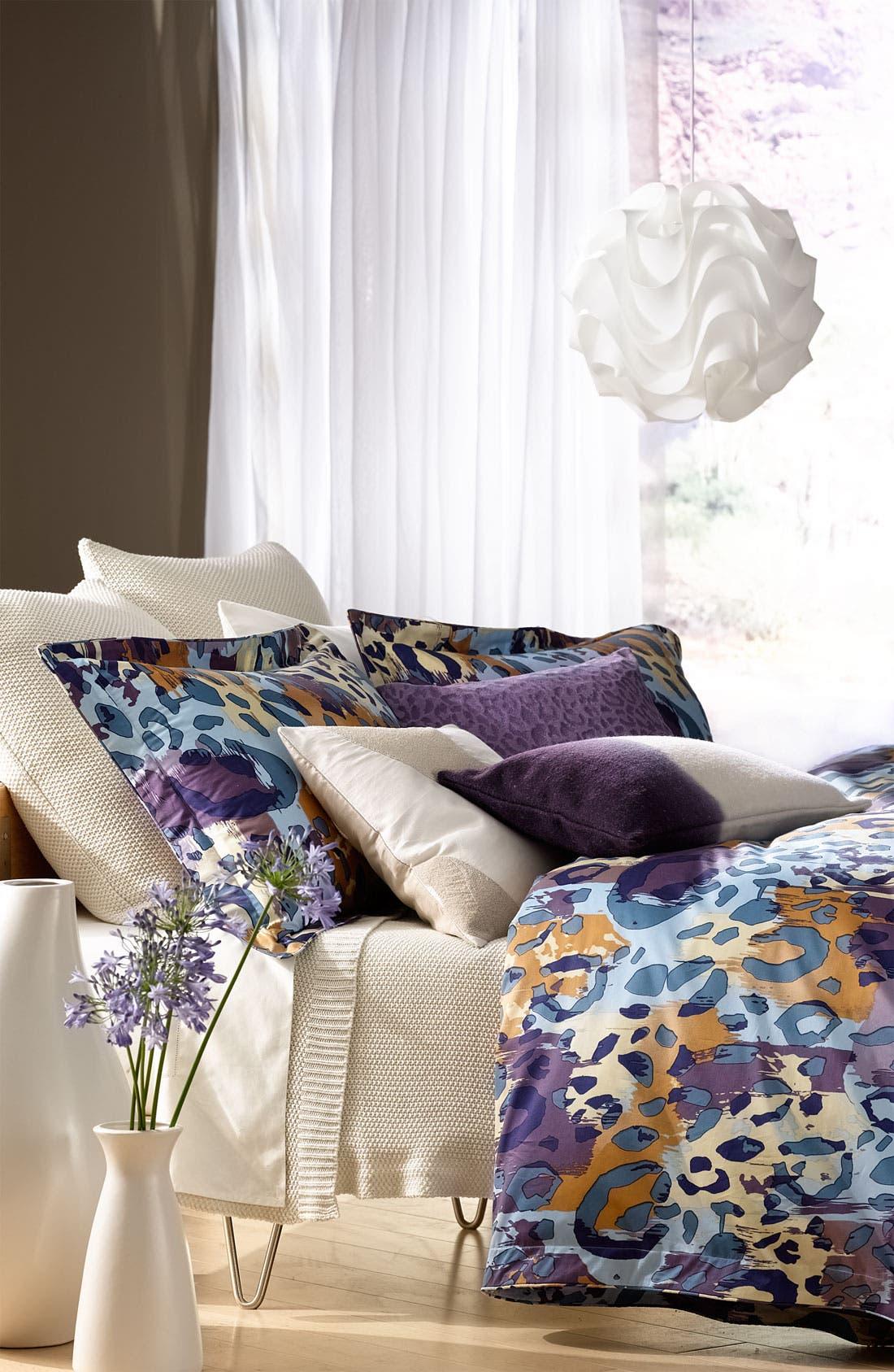 Alternate Image 2  - Diane von Furstenberg 'Paper Cheetah' 300 Thread Count Pillow Sham