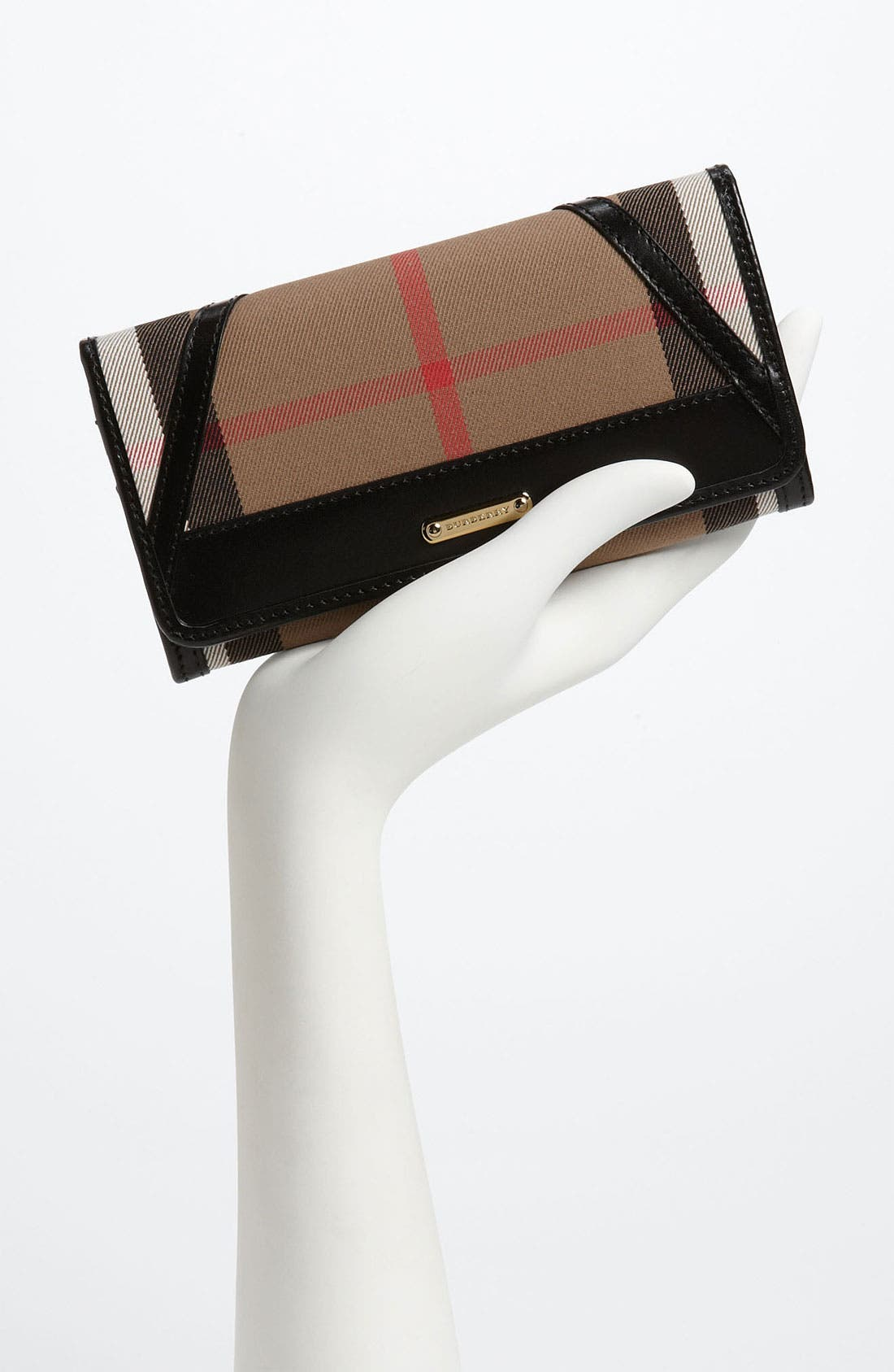 Alternate Image 2  - Burberry 'House Check' Checkbook Wallet