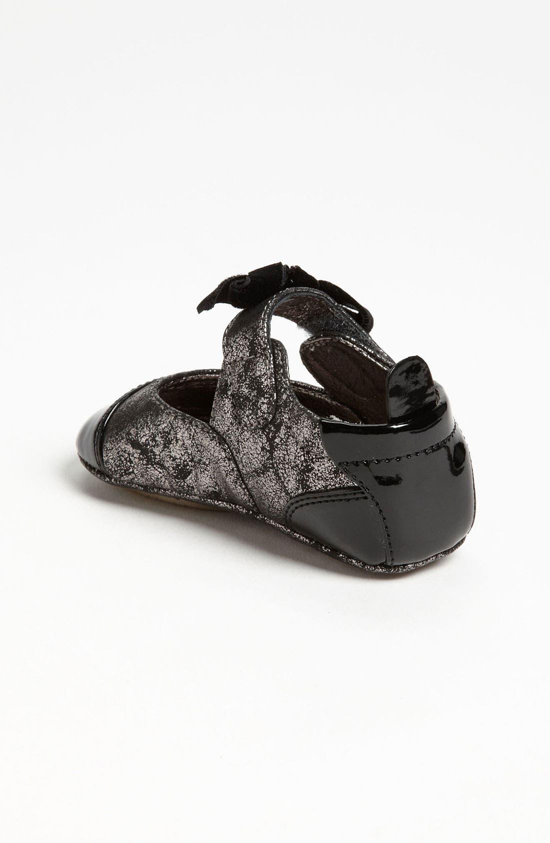 Alternate Image 2  - Cole Haan 'Mini Cap Toe' Leather Crib Shoe (Baby)