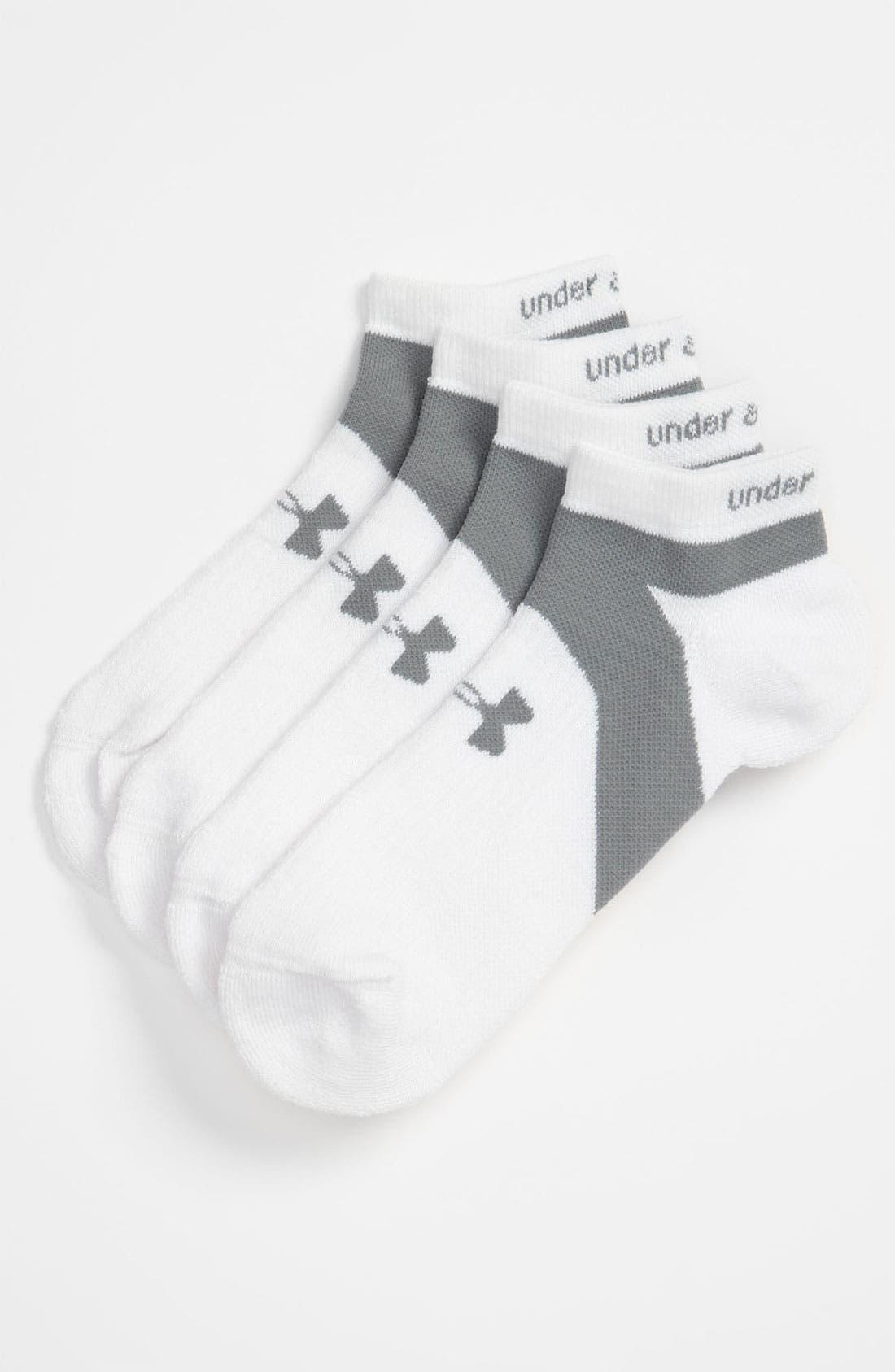 Alternate Image 1 Selected - Under Armour 'Streamline' Running Socks (2-Pack)