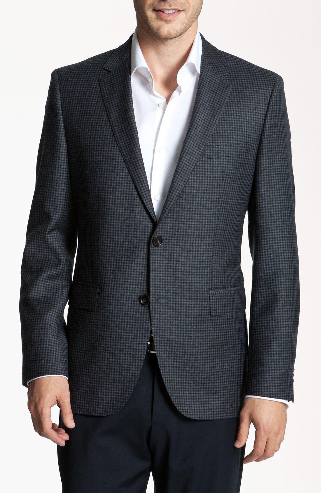 Main Image - BOSS Black 'James' Check Blazer