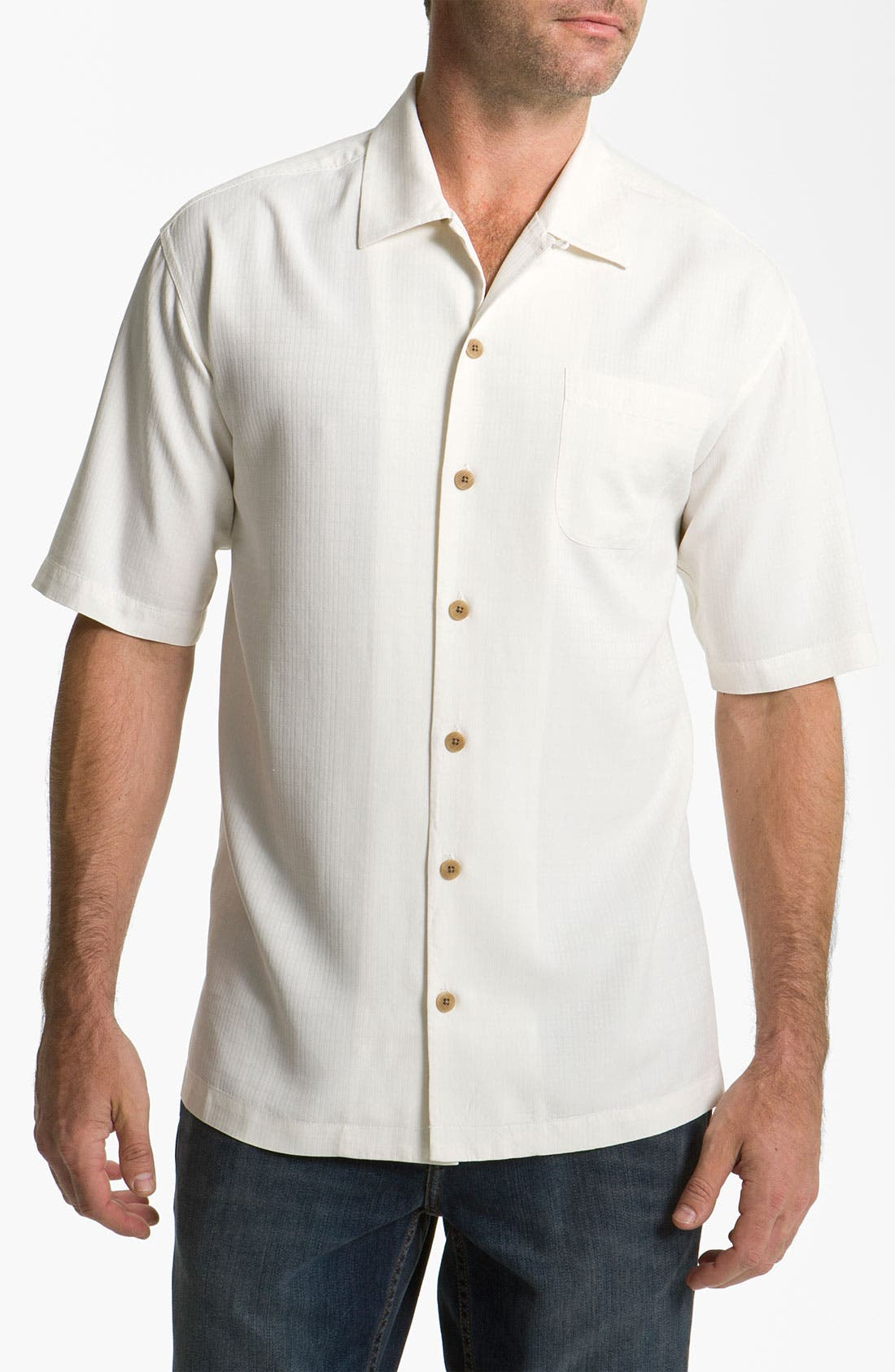 Alternate Image 1 Selected - Tommy Bahama 'Congo' Silk Campshirt