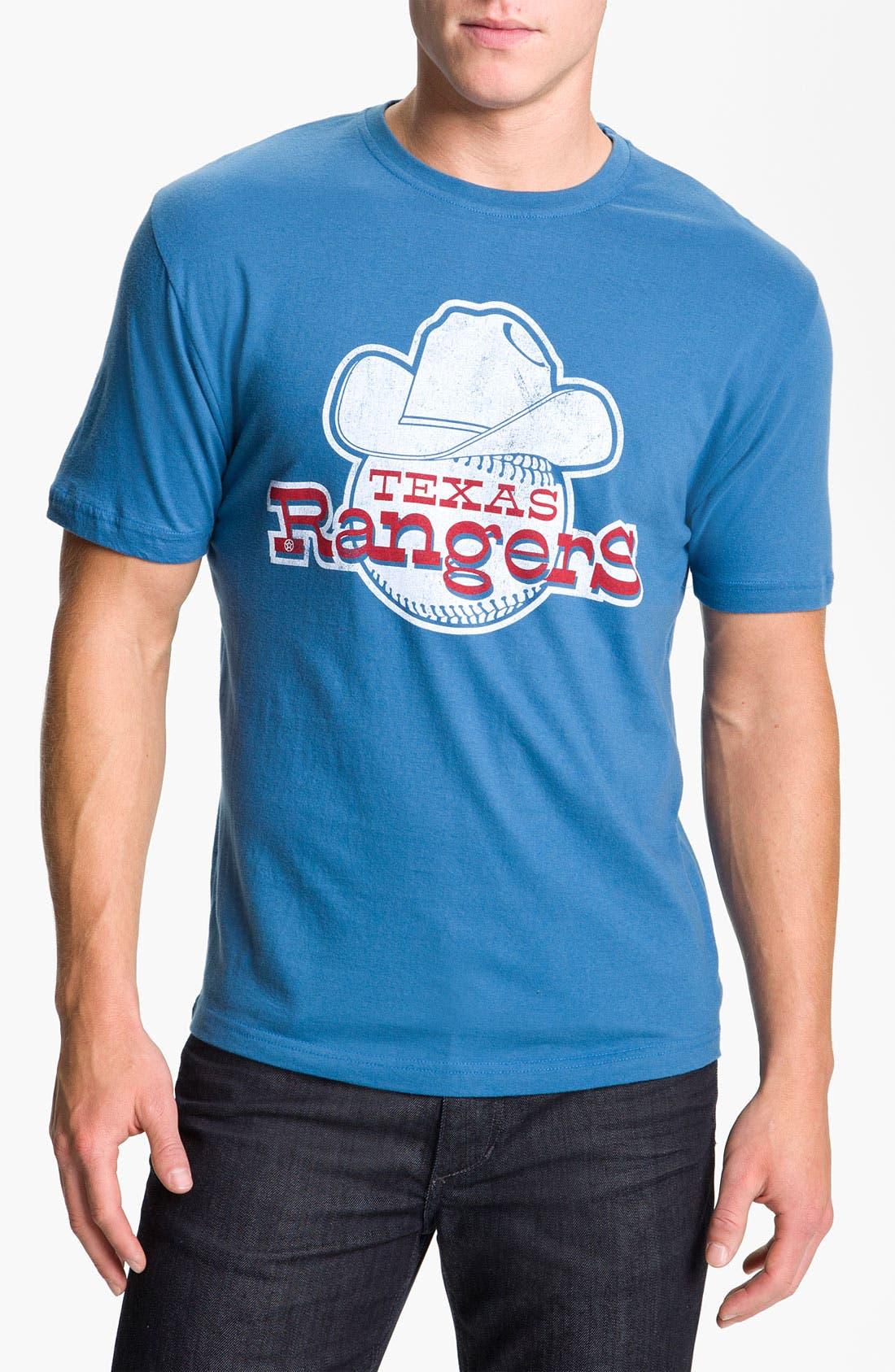 Alternate Image 1 Selected - Wright & Ditson 'Texas Rangers' Baseball T-Shirt