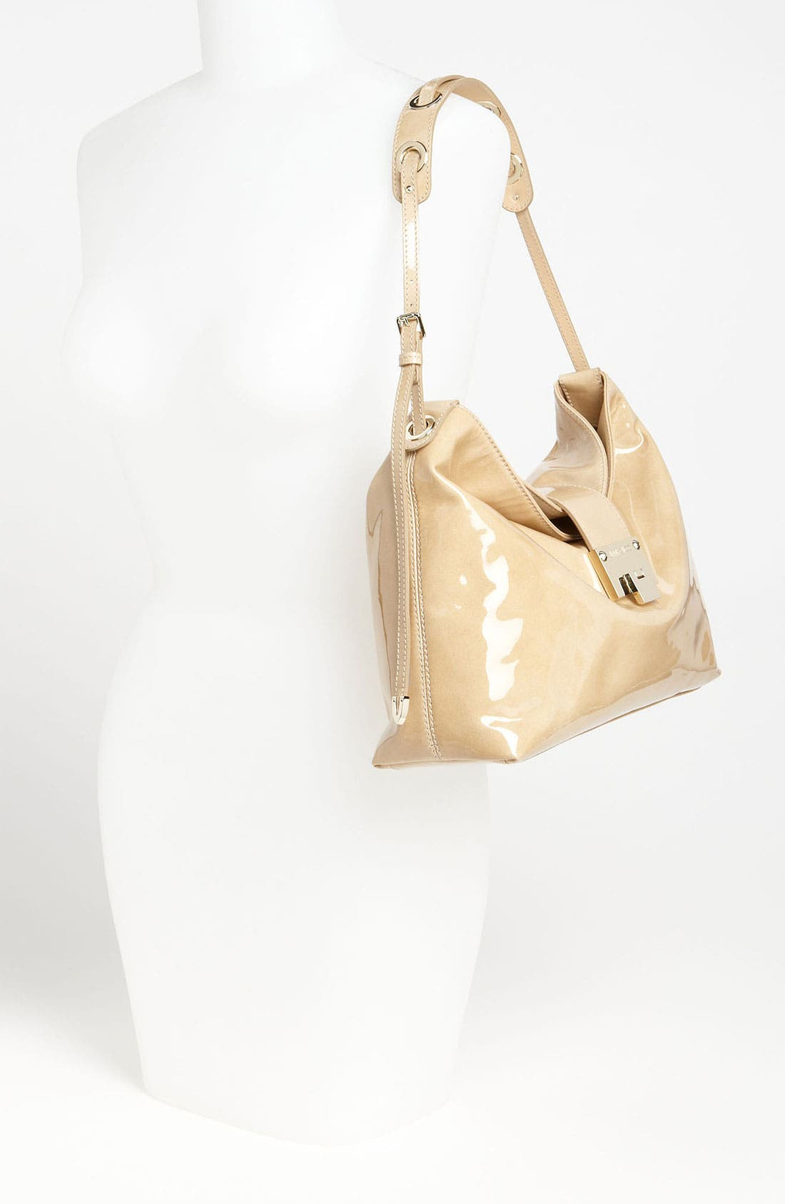 Alternate Image 2  - Jimmy Choo 'Rachel - Small' Patent Leather Shoulder Bag