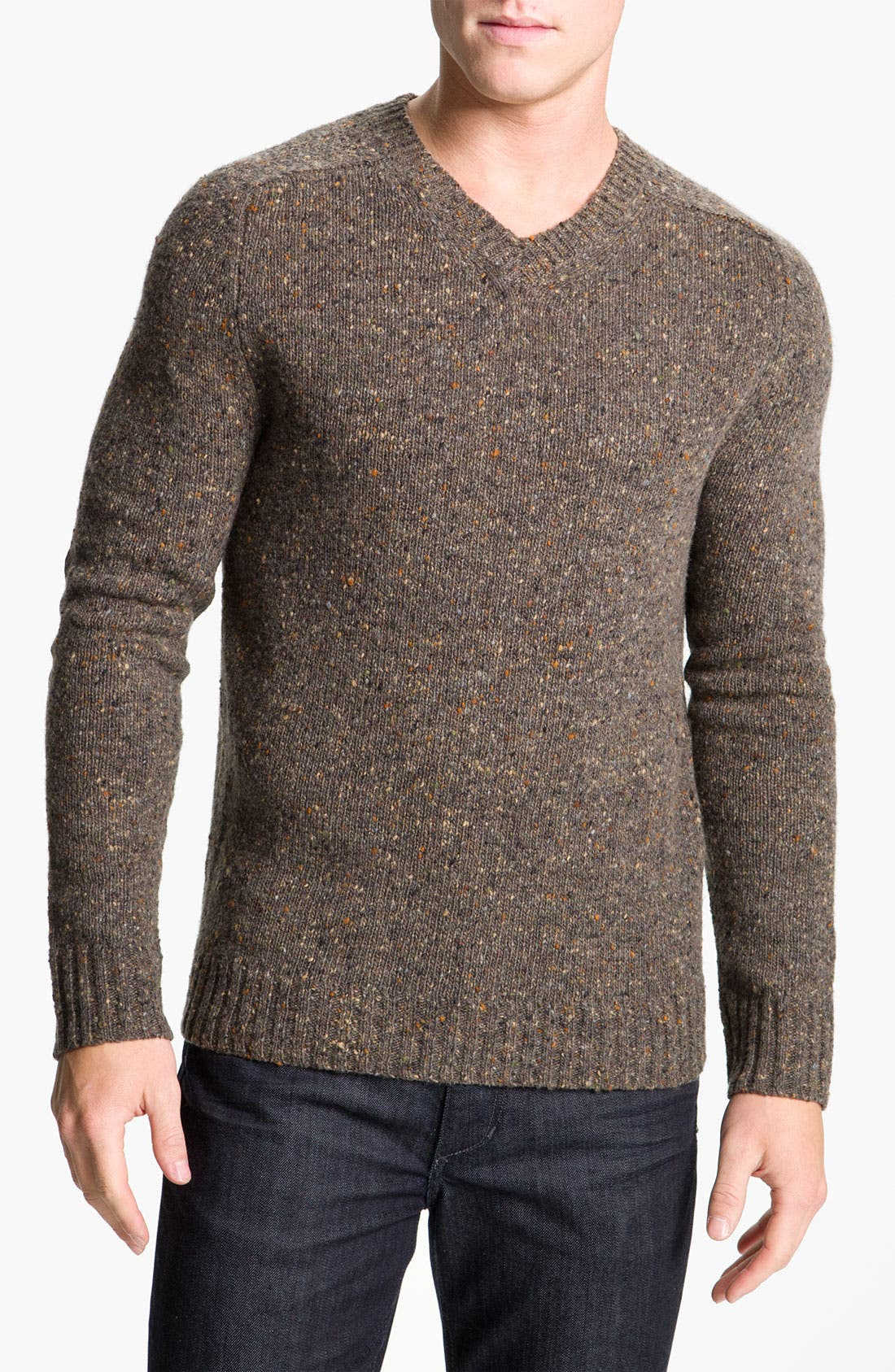 Alternate Image 1 Selected - Vince Nep V-Neck Sweater