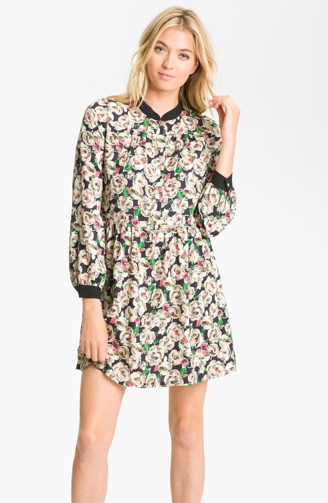 Alternate Image 1 Selected - Juicy Couture Floral Print Dress