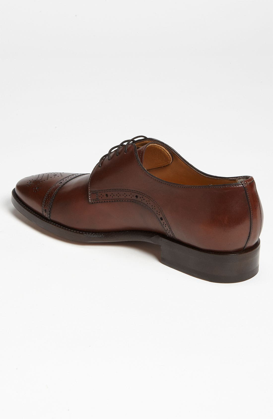 Alternate Image 2  - Santoni 'Quebec' Cap Toe Oxford