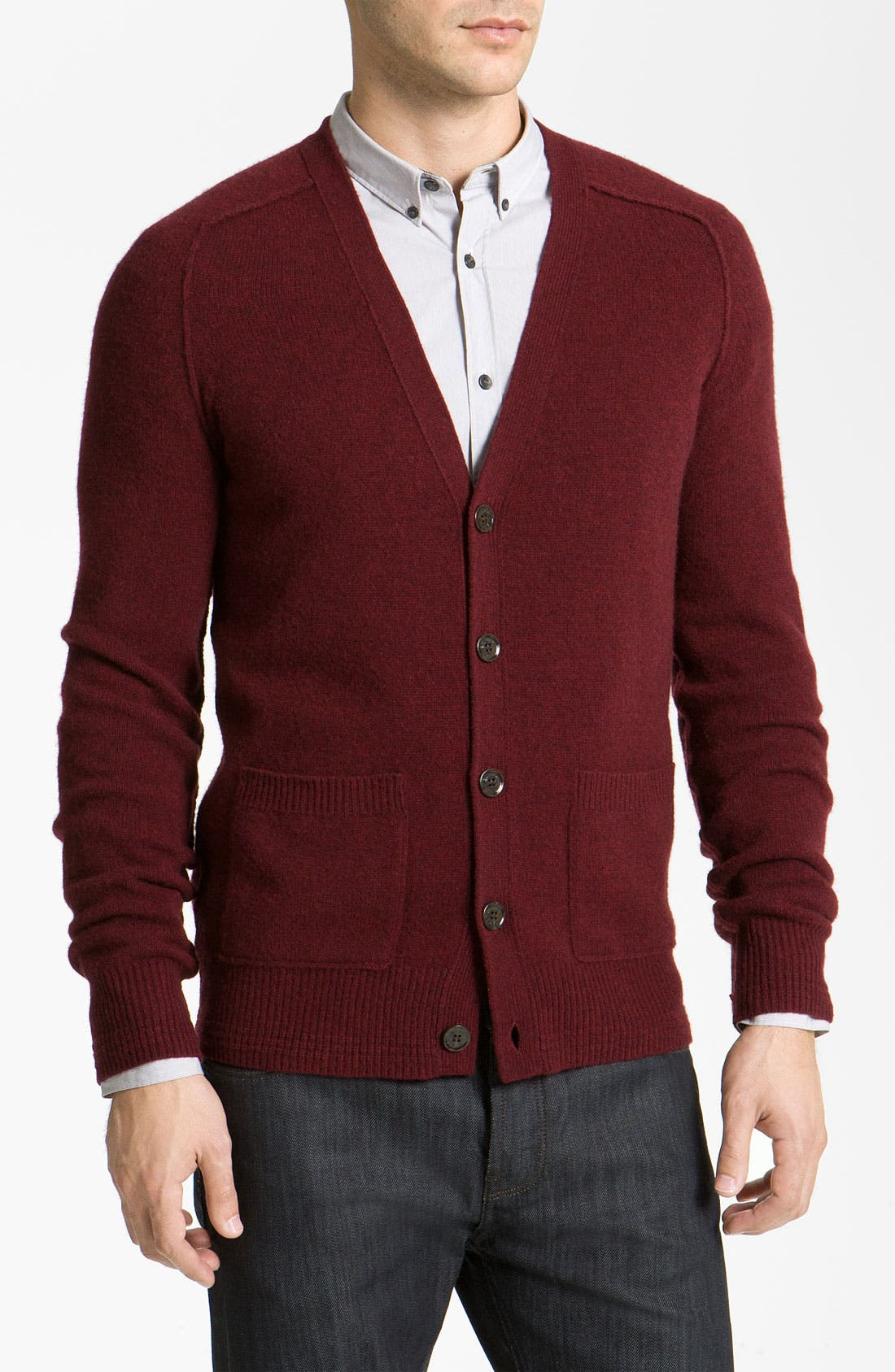 Alternate Image 1 Selected - Burberry Brit Wool & Cashmere Sweater