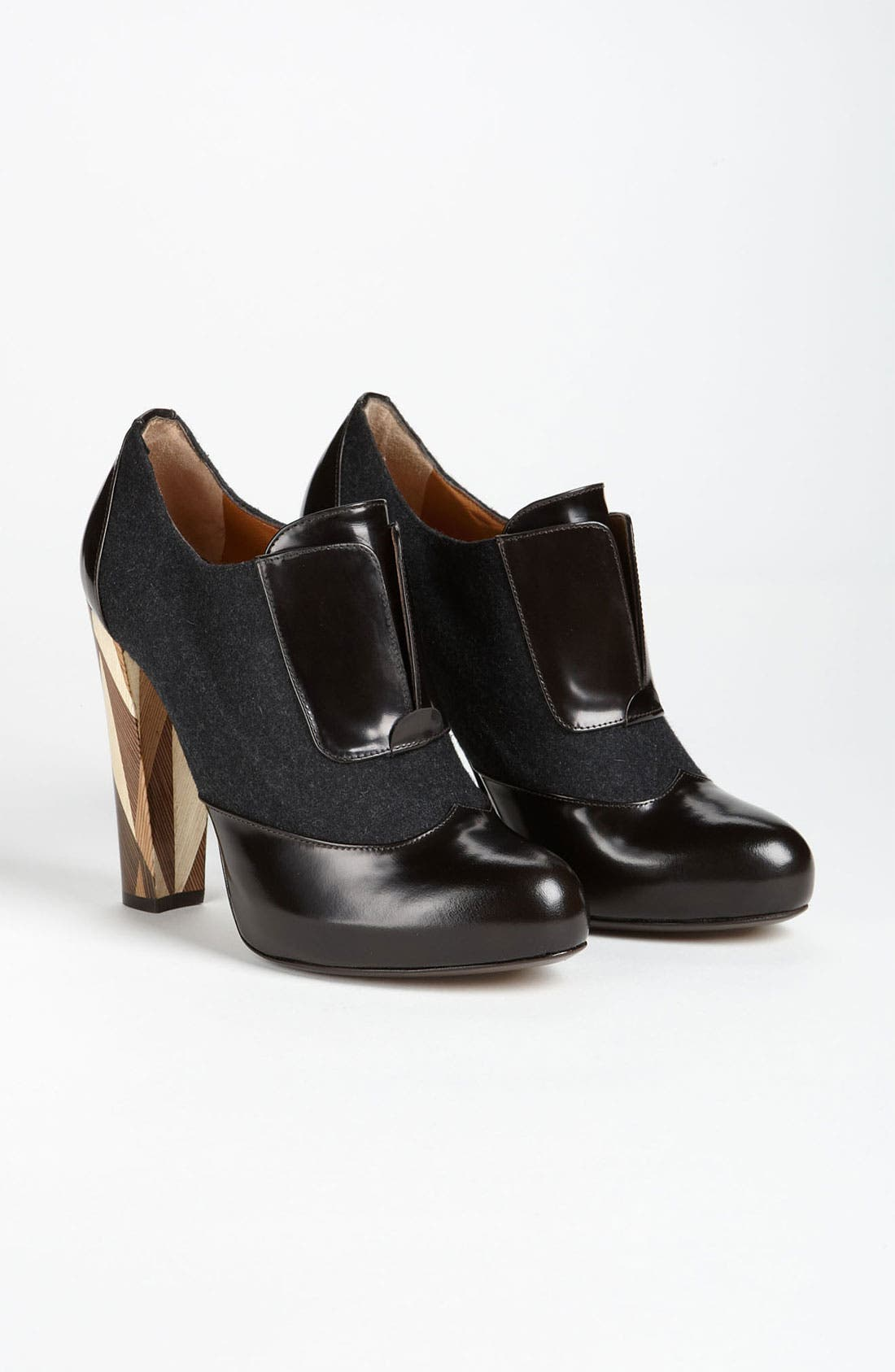 Alternate Image 4  - Fendi 'Wuthering Heights' Wood Heel Bootie