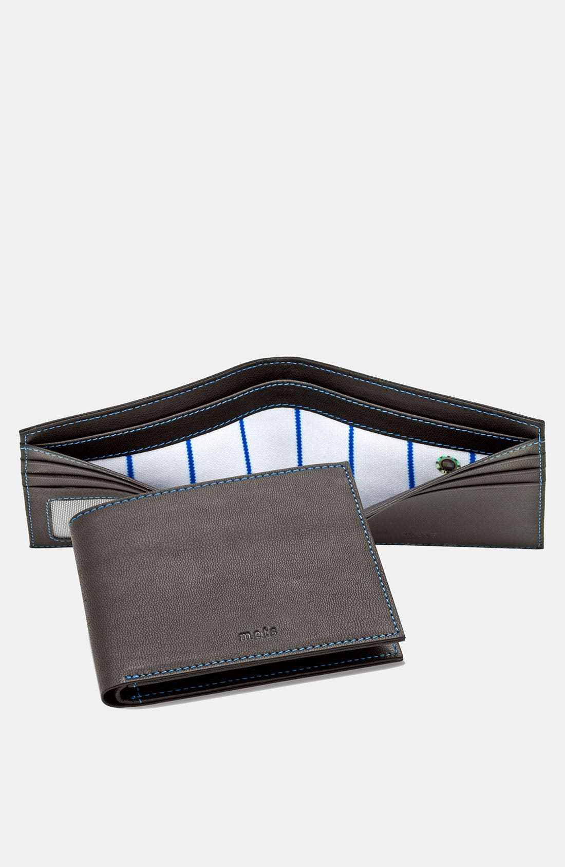 Alternate Image 1 Selected - Tokens & Icons 'New York Mets' MLB™ Game-Used-Uniform Wallet