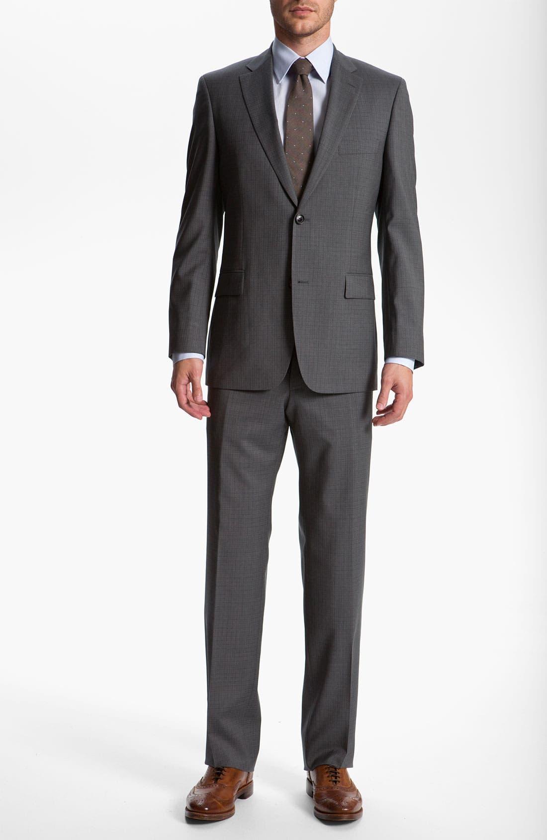Alternate Image 2  - BOSS Black 'Pasolini/Movie' Check Suit