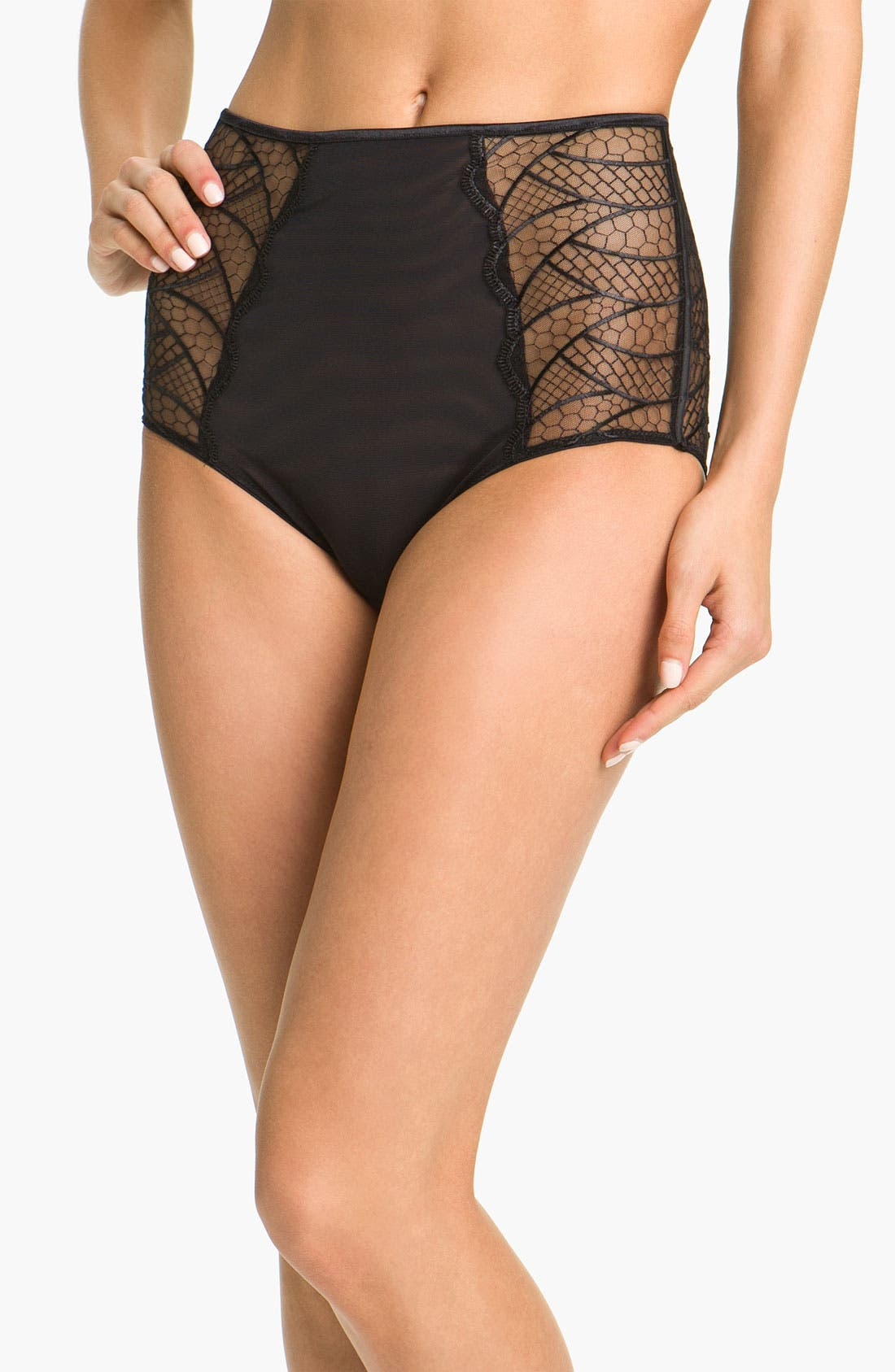 Main Image - Chantelle Intimates 'Hypnotique' High Waist Briefs