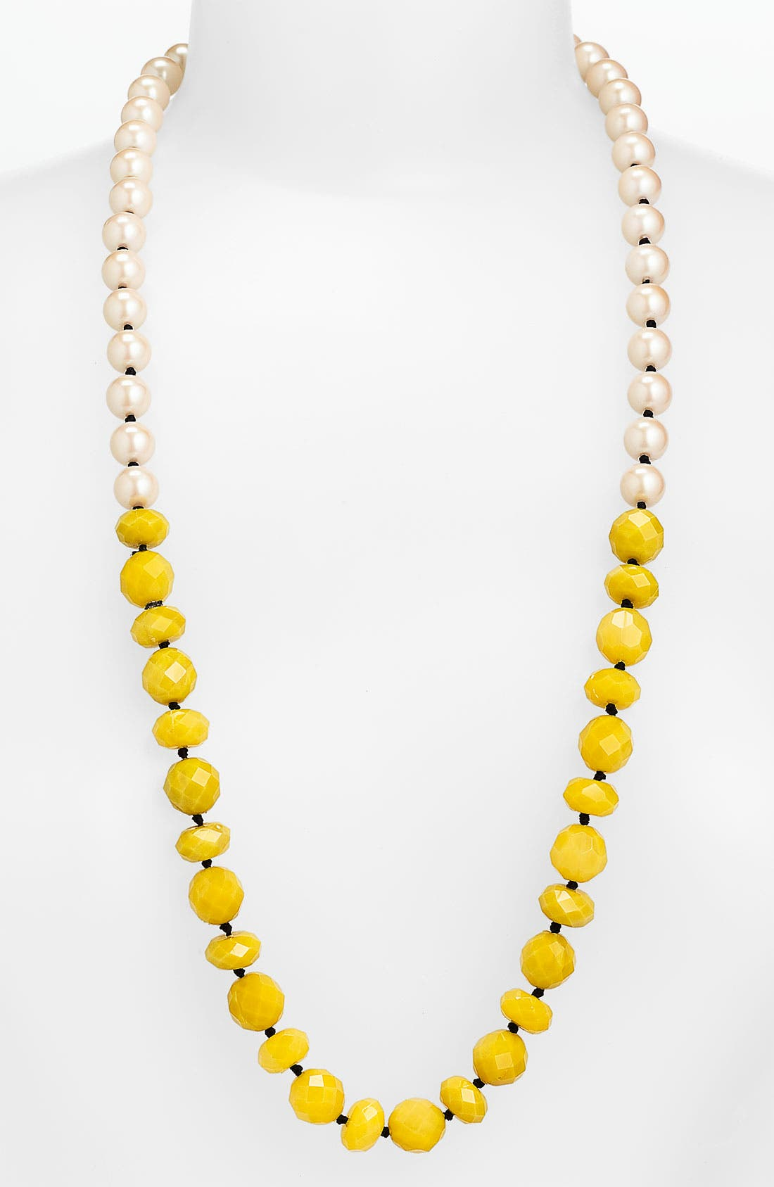 Alternate Image 1 Selected - kate spade new york 'give it a swirl' long necklace