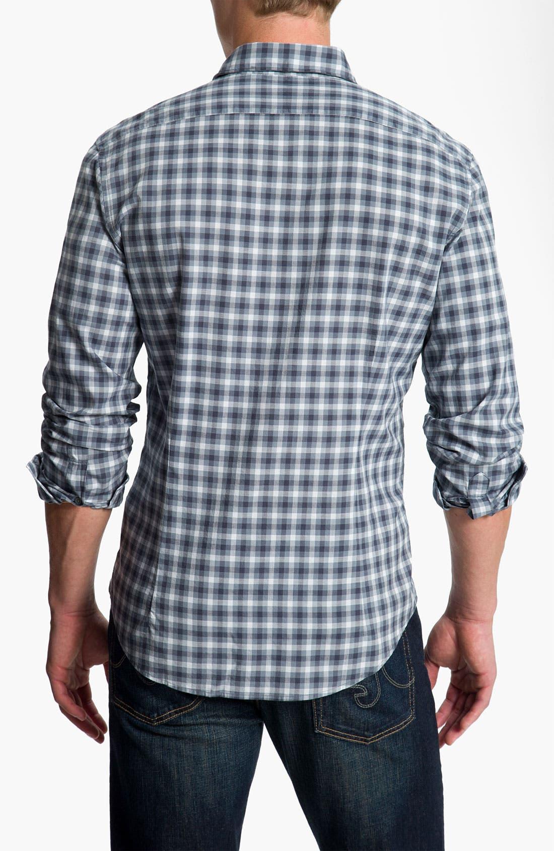 Alternate Image 2  - John Varvatos Star USA Wire Collar Sport Shirt