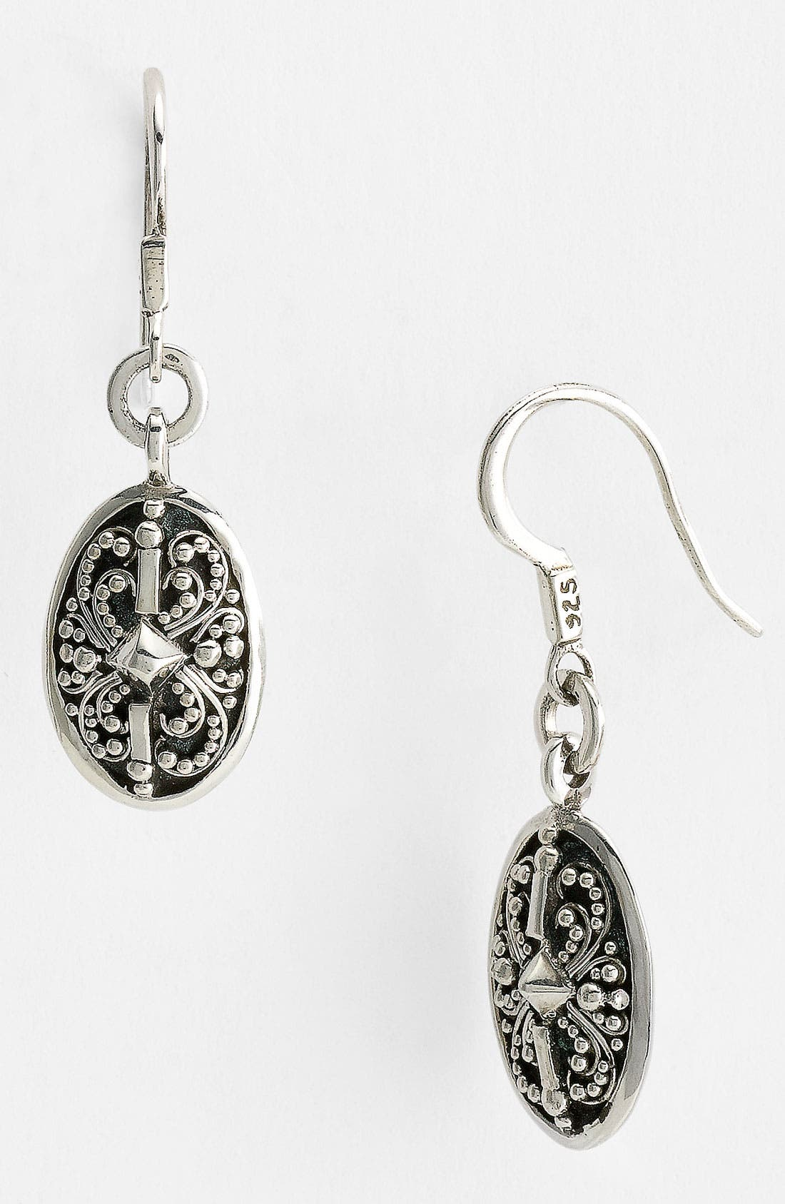 Alternate Image 1 Selected - Lois Hill 'Haveli' Small Oval Drop Earrings