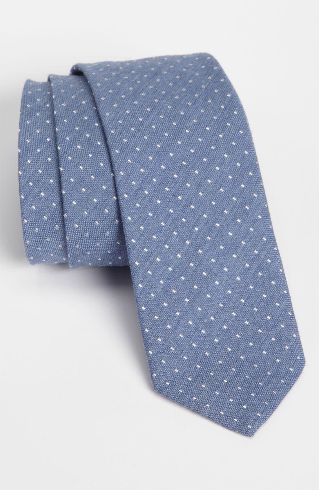 Alternate Image 1 Selected - BOSS Black Woven Tie